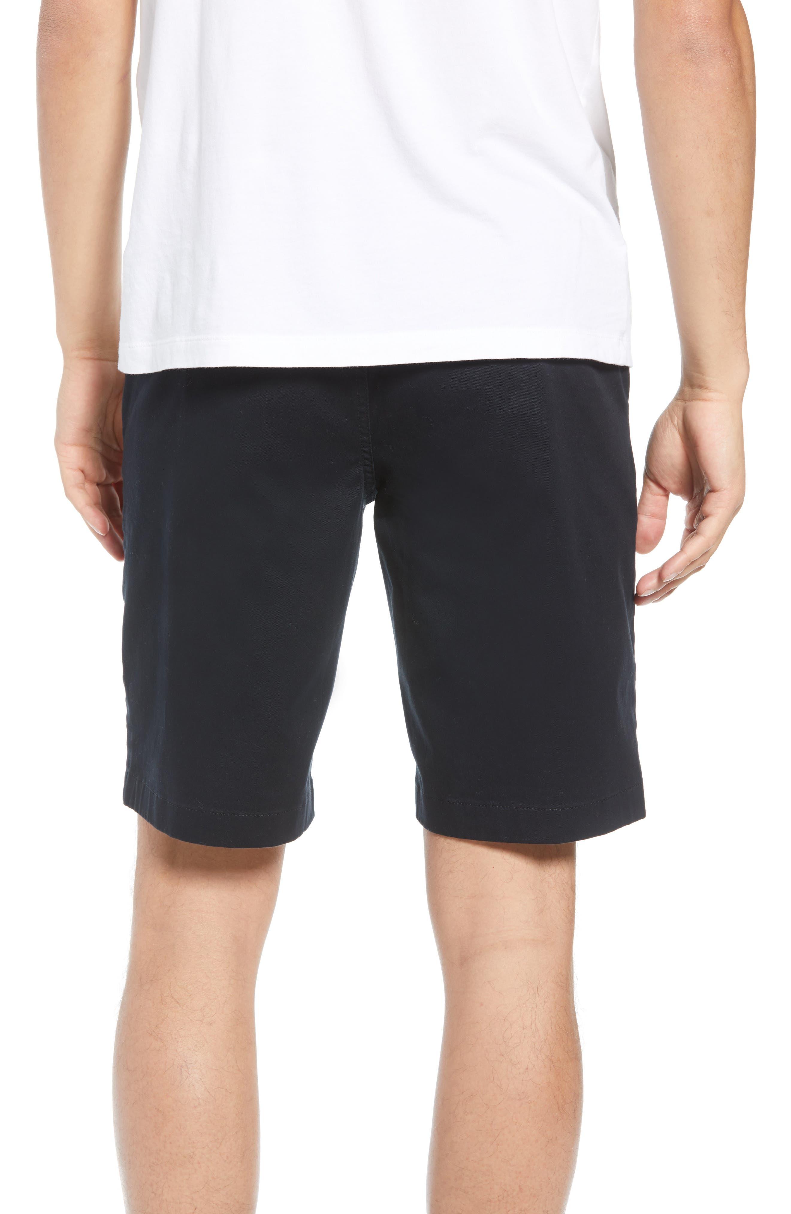 Flat Front Shorts,                             Alternate thumbnail 2, color,                             001