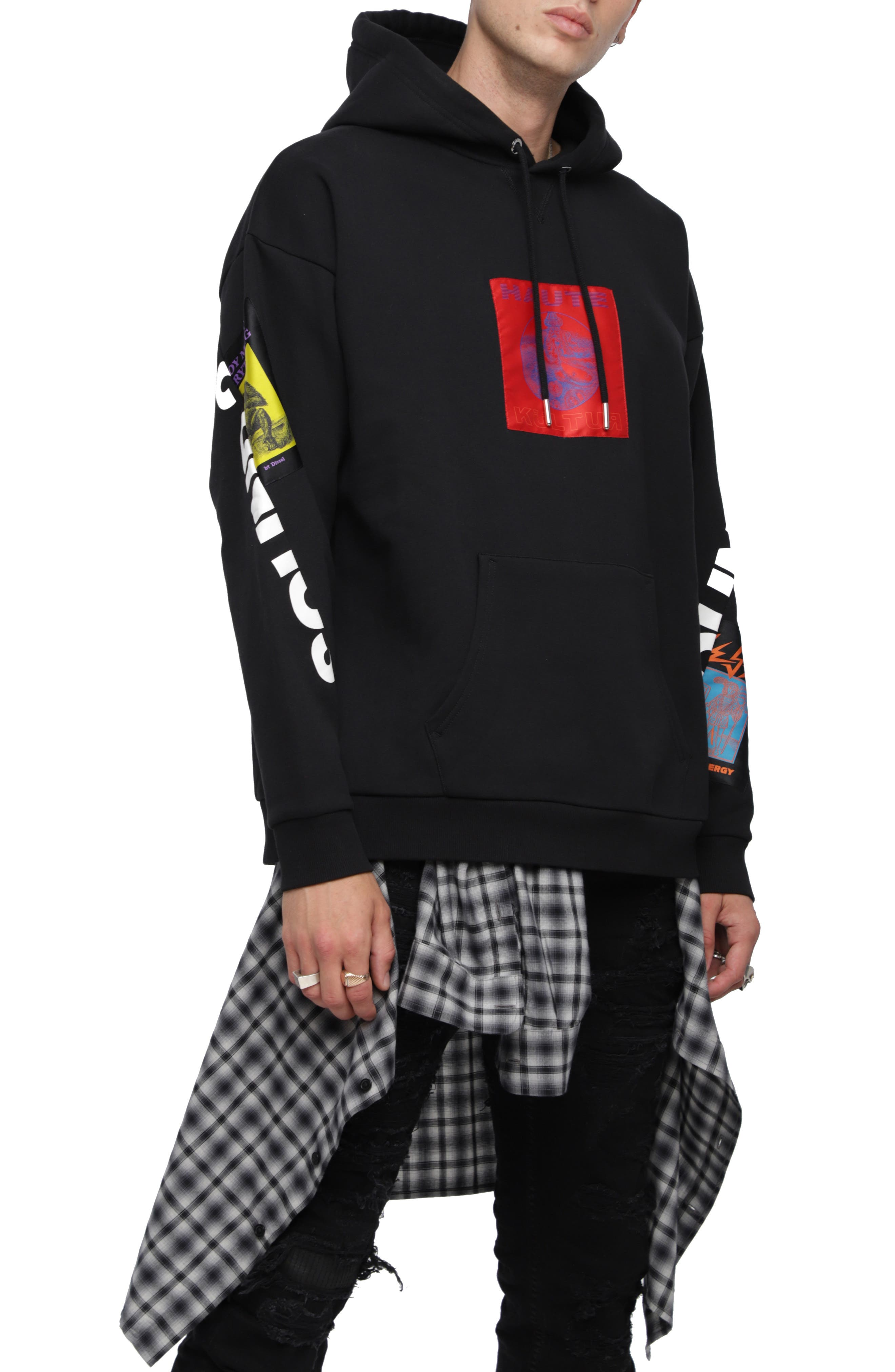 S-JACK-XA Hoodie Sweatshirt,                             Main thumbnail 1, color,                             001
