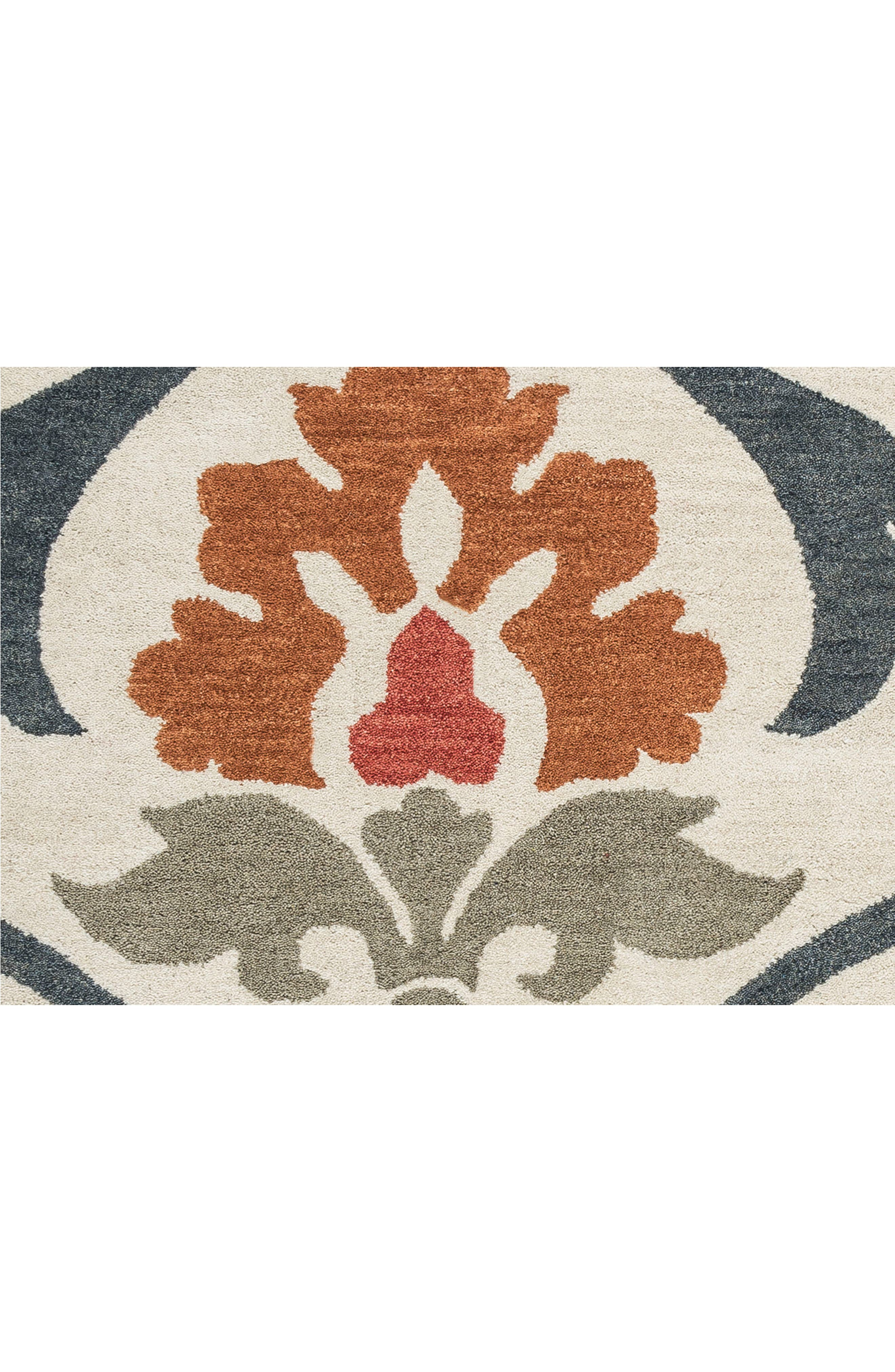 Zoe Hand Tufted Wool Area Rug,                             Alternate thumbnail 4, color,                             900