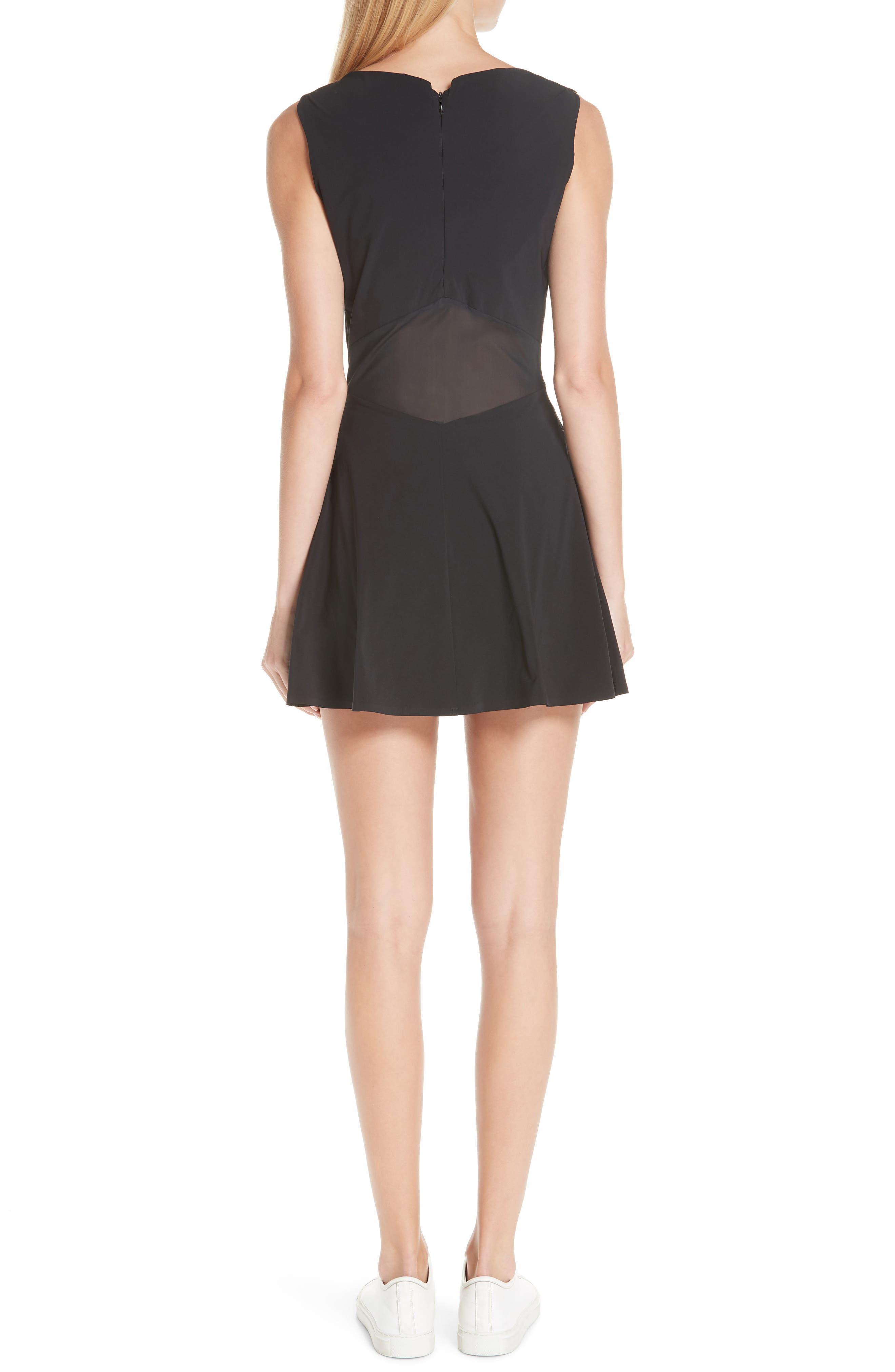 Grand Slam Dress,                             Alternate thumbnail 2, color,                             BLACK