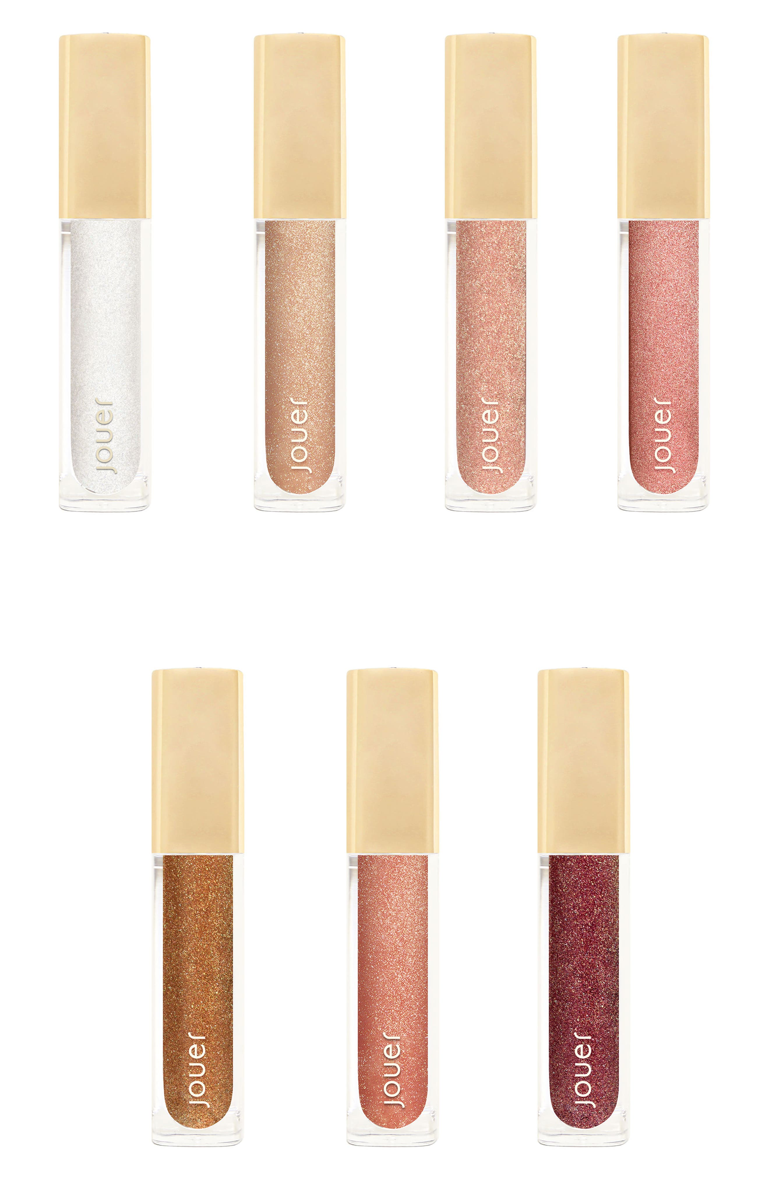 Best of Lip Toppers Mini Long-Wear Lip Topper Collection,                             Main thumbnail 1, color,                             000