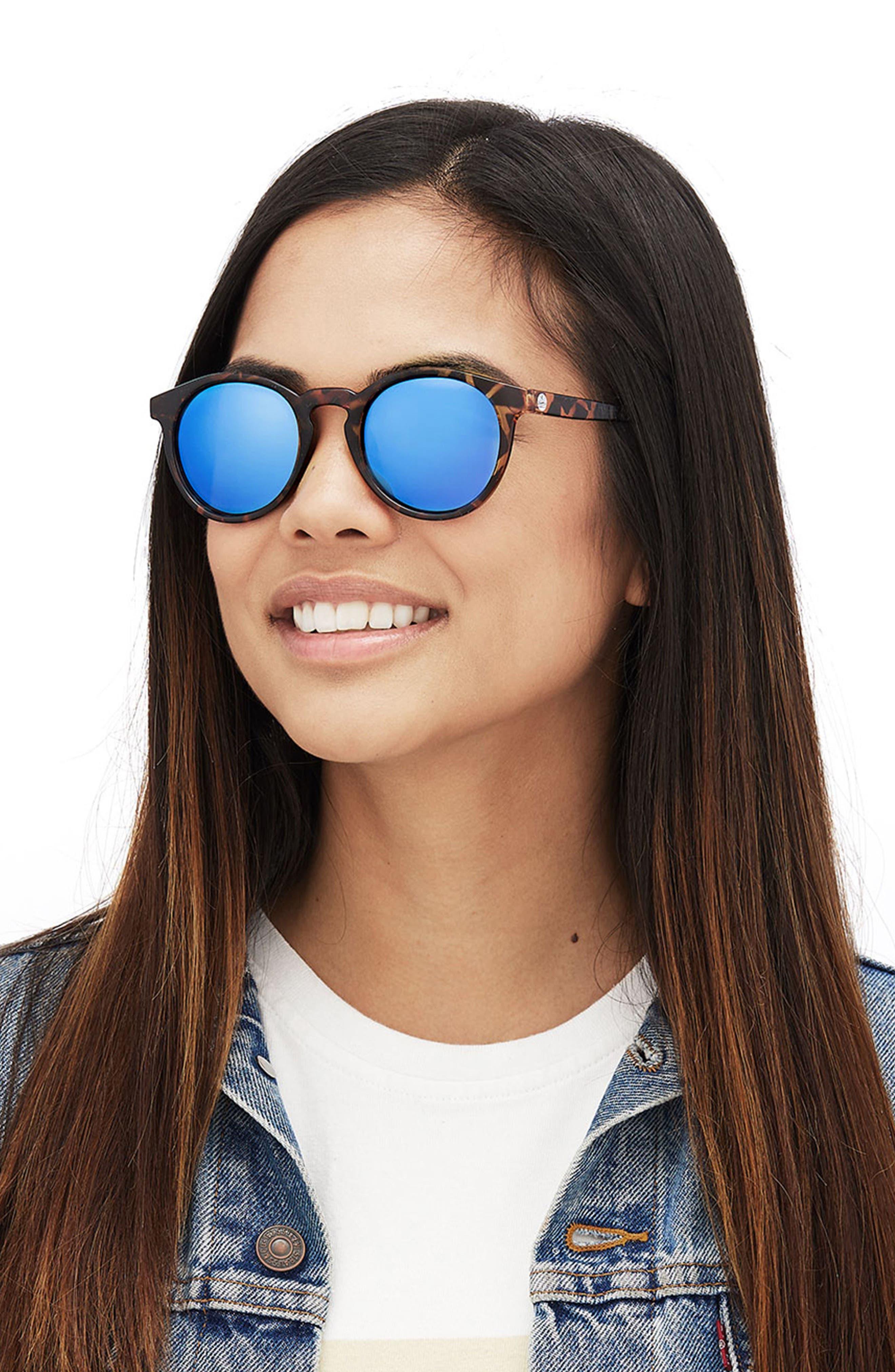 Dipsea 48mm Polarized Sunglasses,                             Alternate thumbnail 5, color,                             TORTOISE EMERALD