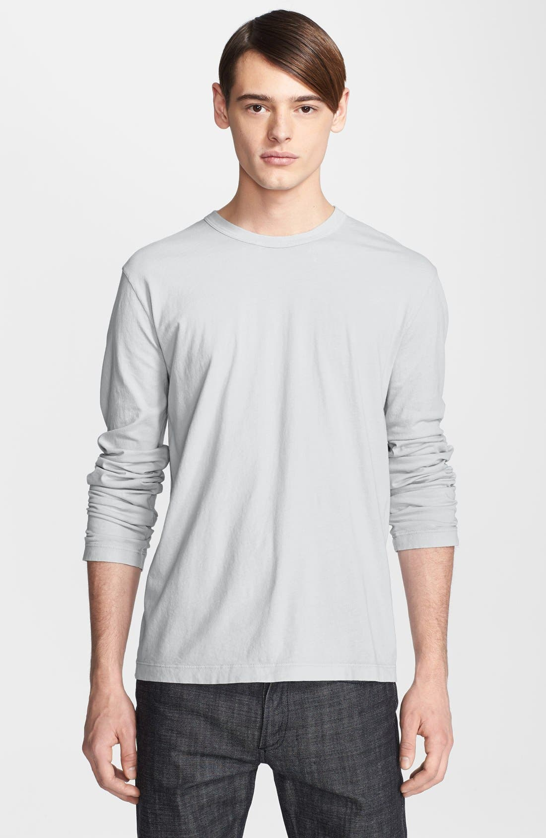Long Sleeve Crewneck T-Shirt,                             Main thumbnail 13, color,