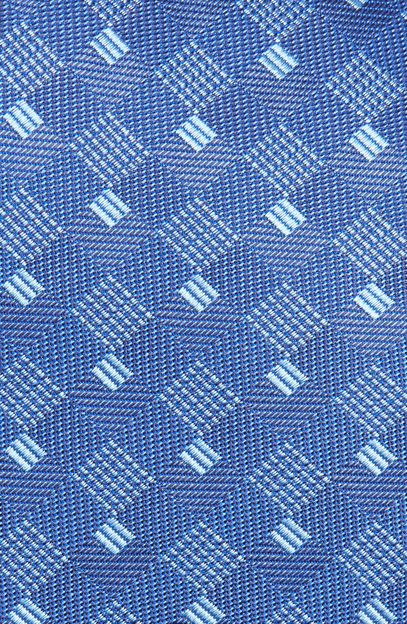 Geometric Silk Tie,                             Alternate thumbnail 2, color,                             423