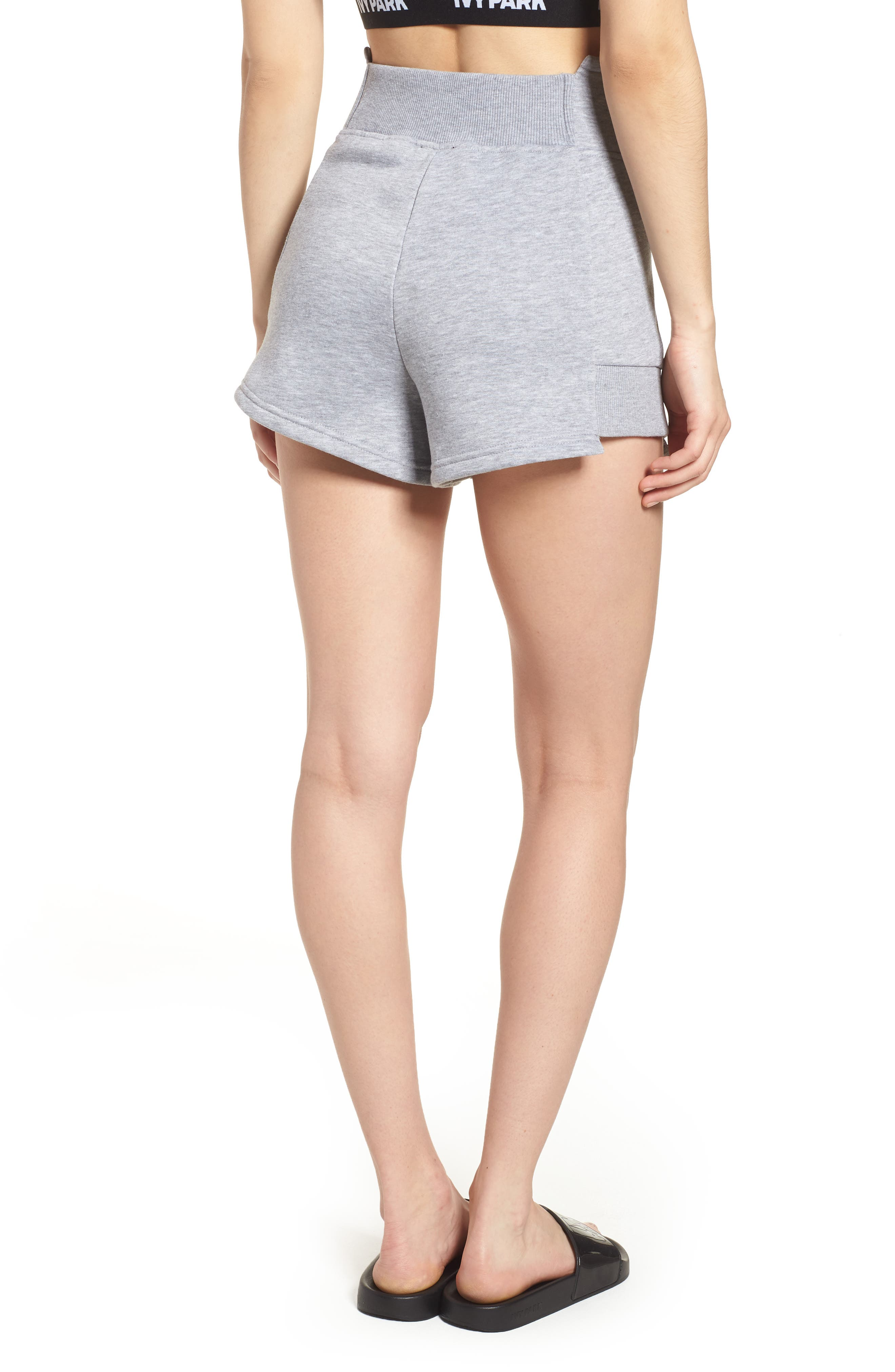 IVY PARK<SUP>®</SUP>,                             Custom Tape Shorts,                             Alternate thumbnail 2, color,                             020