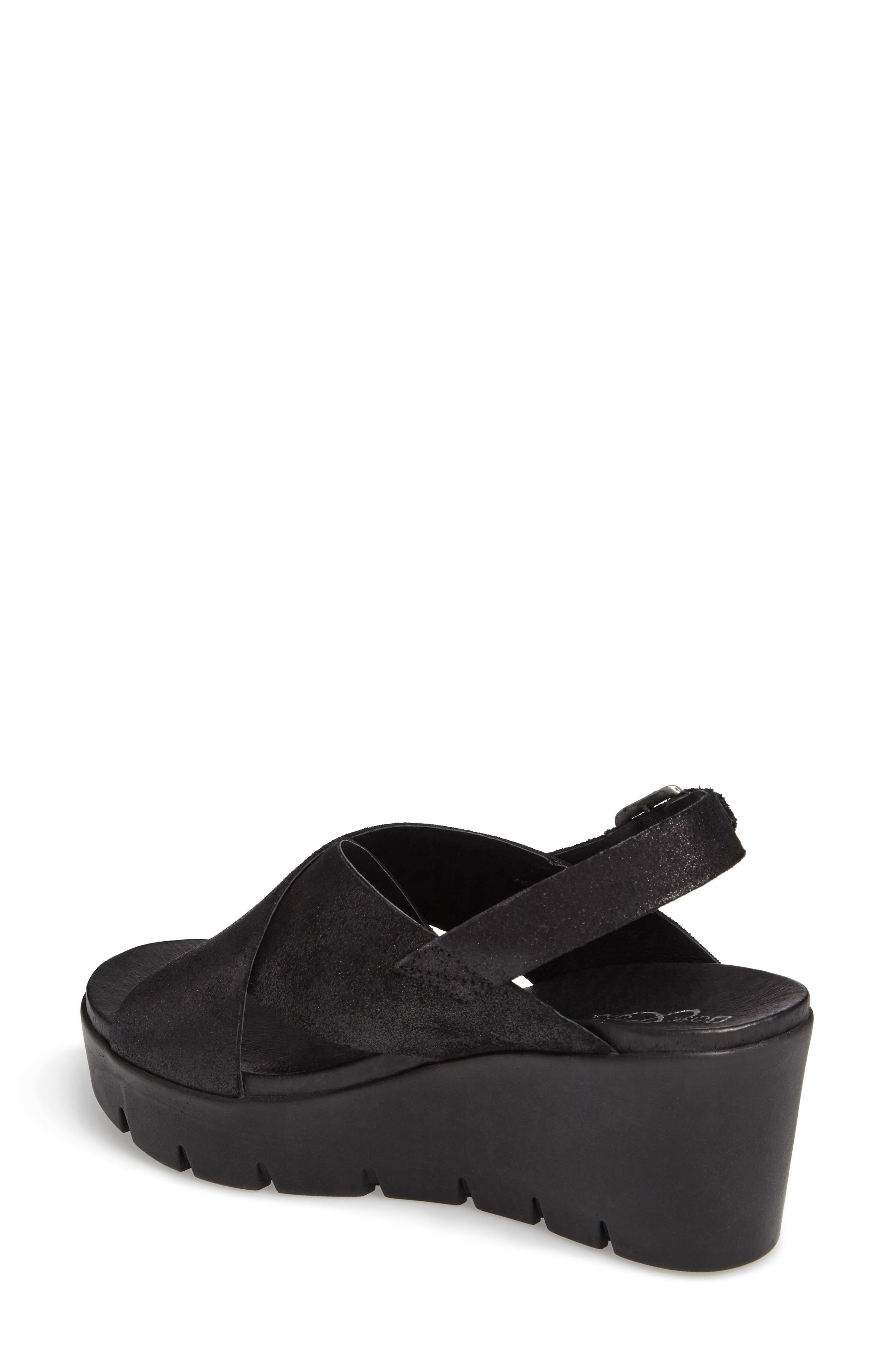 Payton Platform Wedge Sandal,                             Alternate thumbnail 2, color,                             001