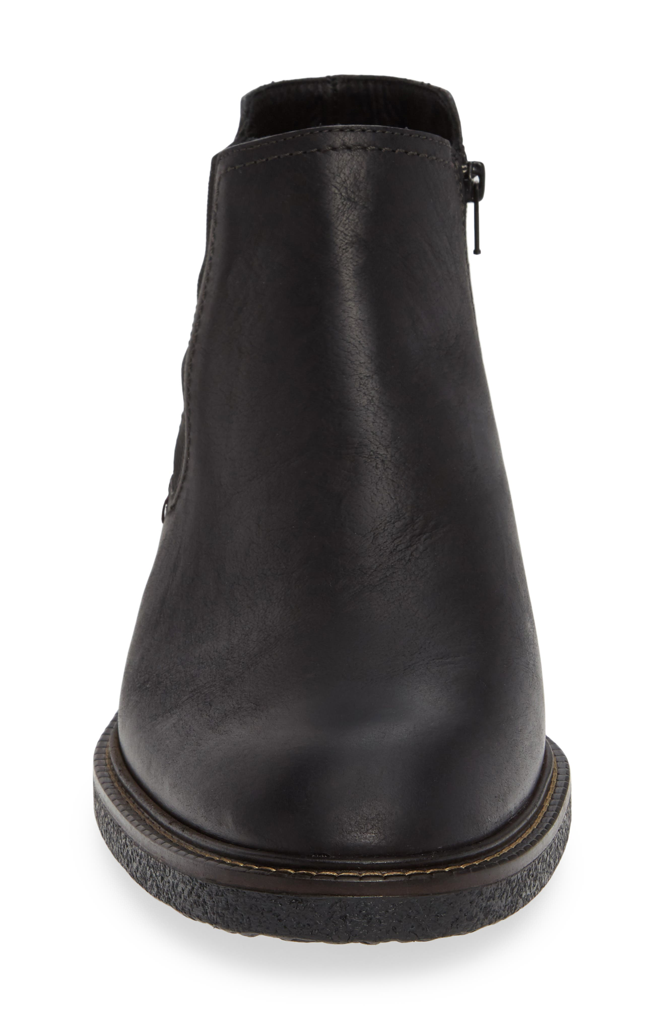 Guillem Mid Chelsea Boot,                             Alternate thumbnail 4, color,                             001