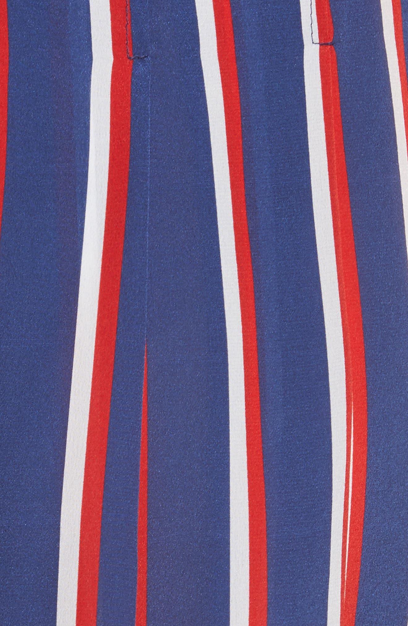 Scarlet Super High Waist Flutter Shorts,                             Alternate thumbnail 5, color,                             475