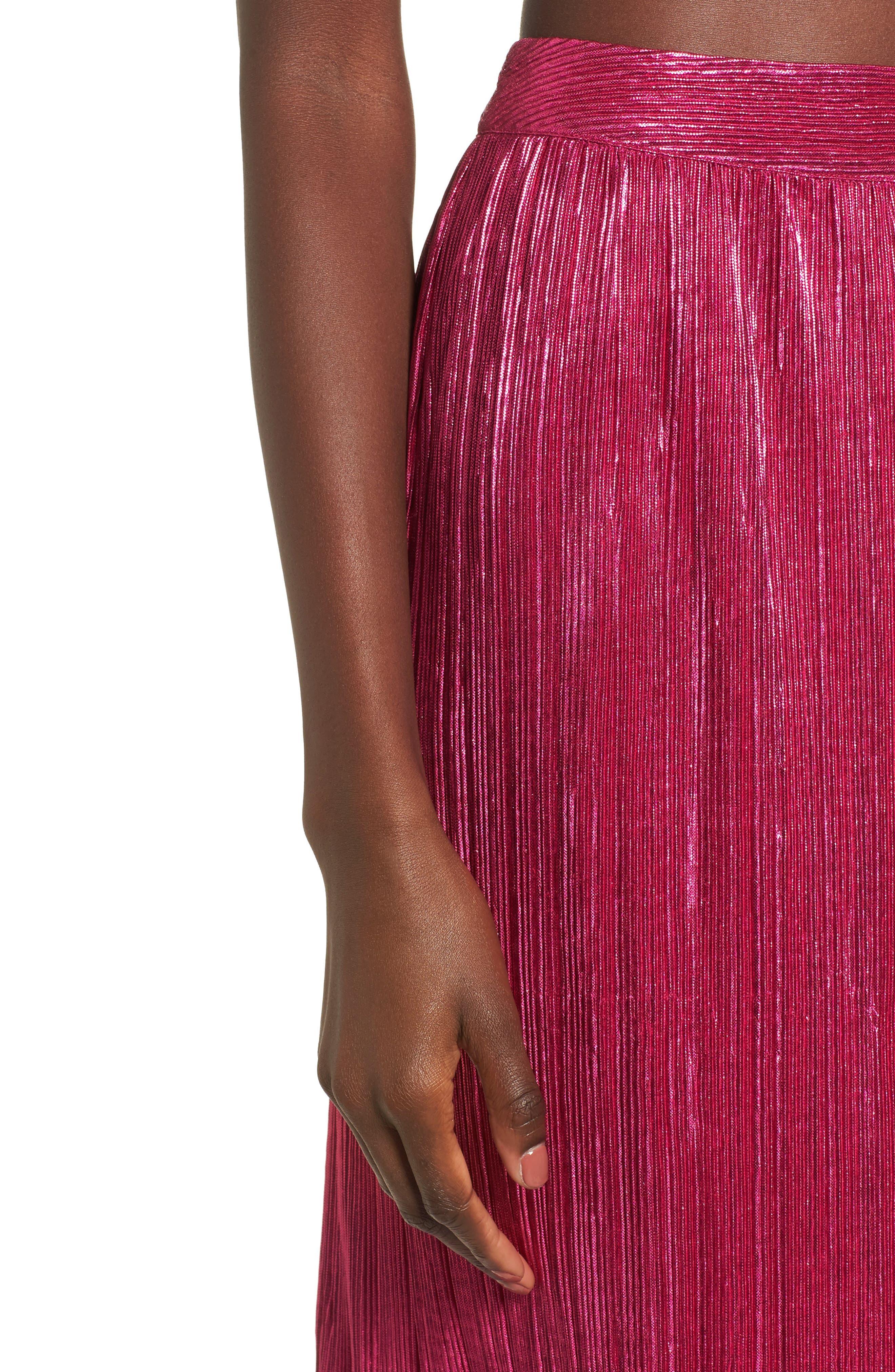 Marion Midi Skirt,                             Alternate thumbnail 4, color,                             650