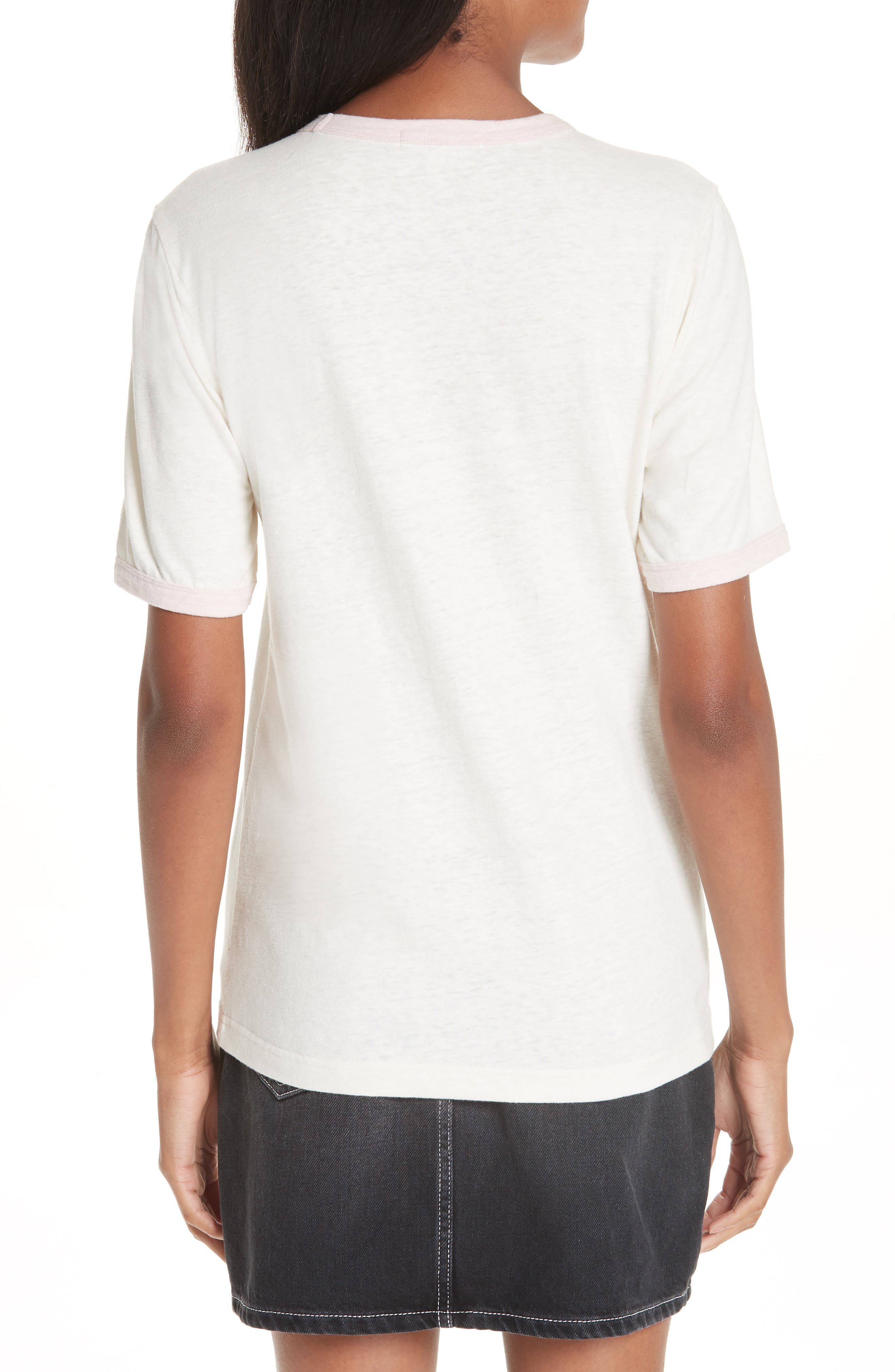 Slub Jersey Tee,                             Alternate thumbnail 2, color,                             WHITE