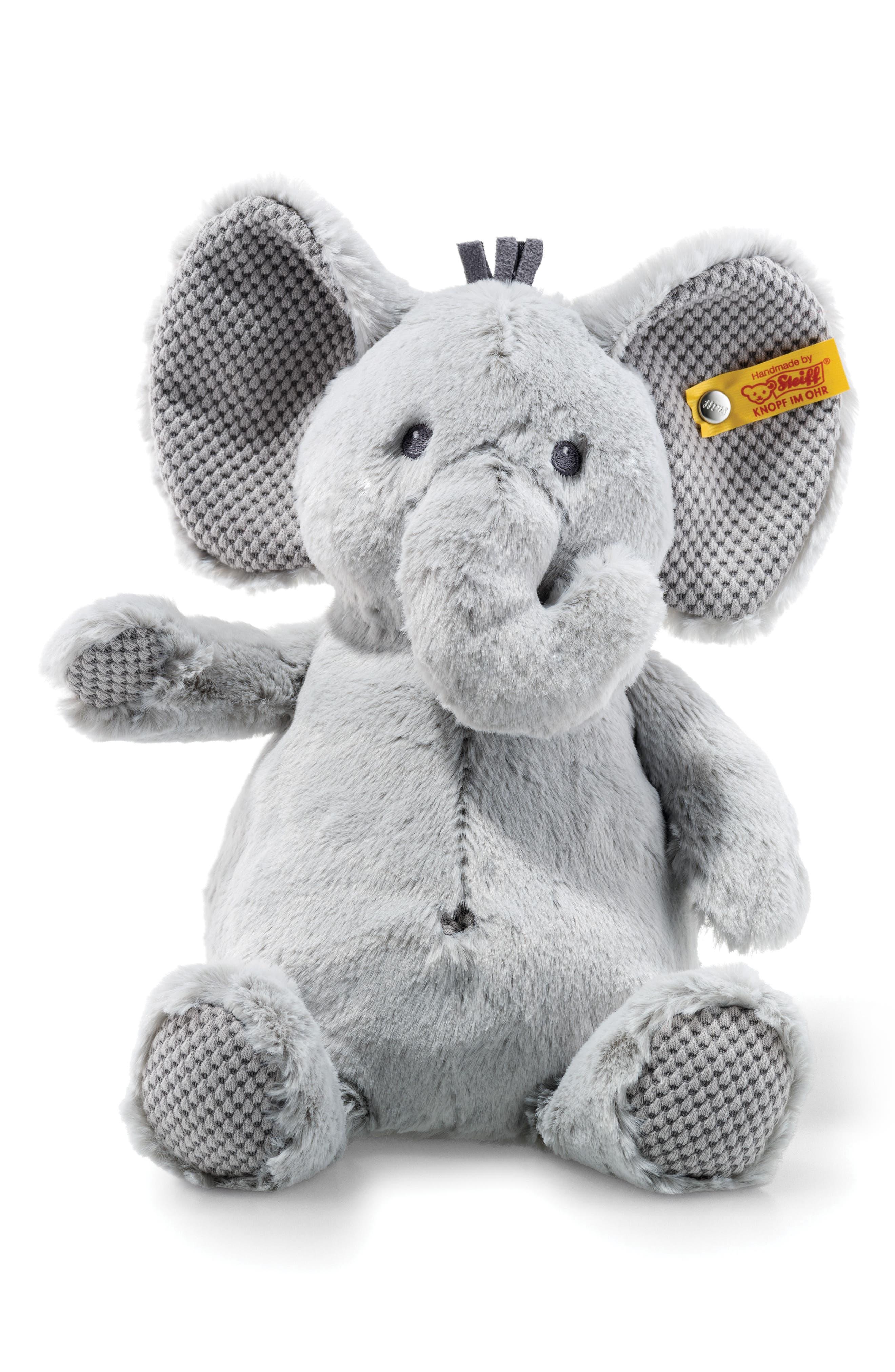Ellie Elephant Stuffed Animal,                             Main thumbnail 1, color,                             020