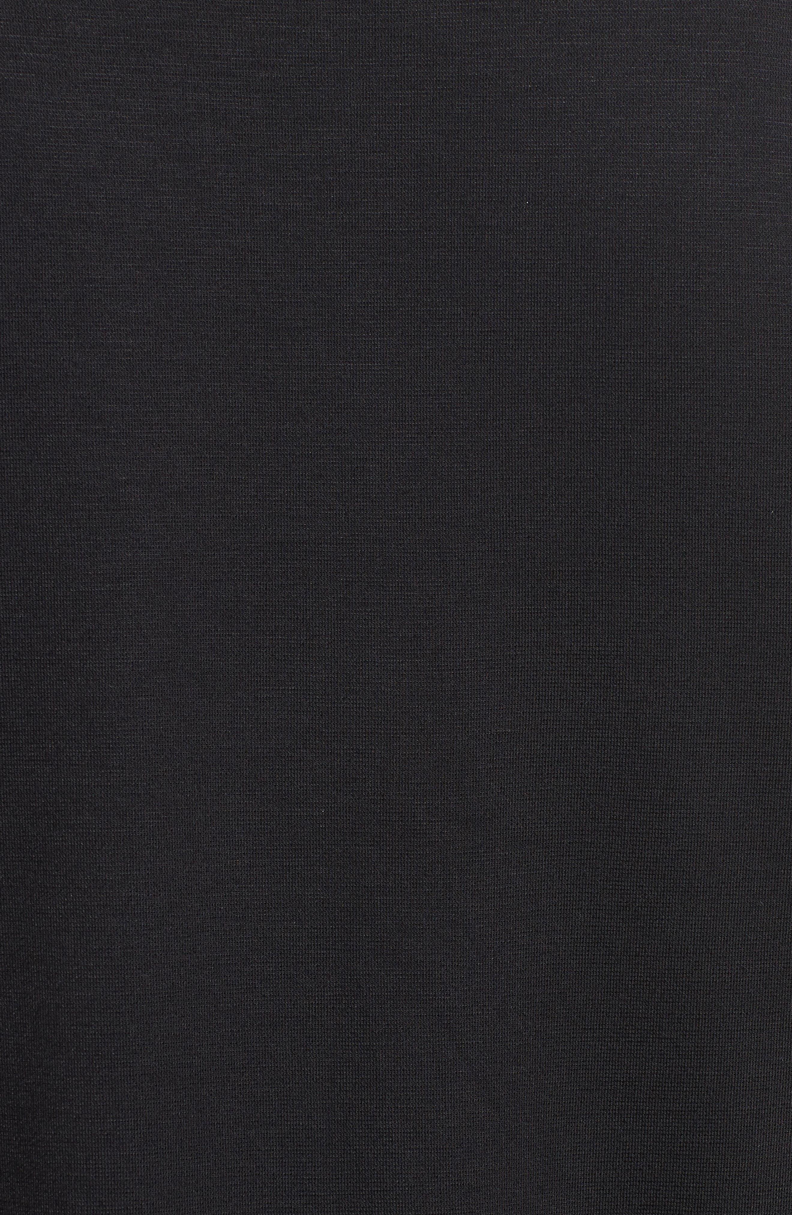 Bell Sleeve Handkerchief Ruffle Top,                             Alternate thumbnail 5, color,                             001