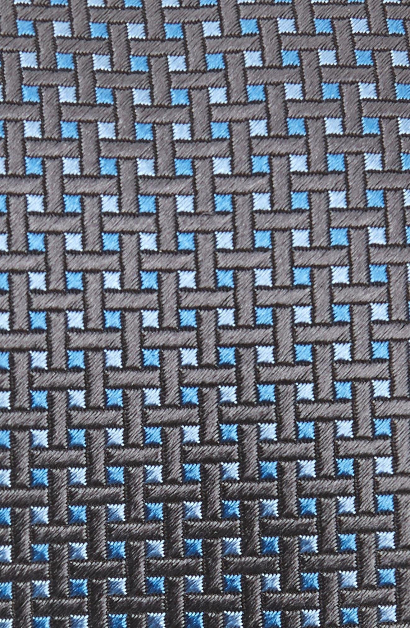 DAVID DONAHUE,                             Neat Silk Tie,                             Alternate thumbnail 2, color,                             020