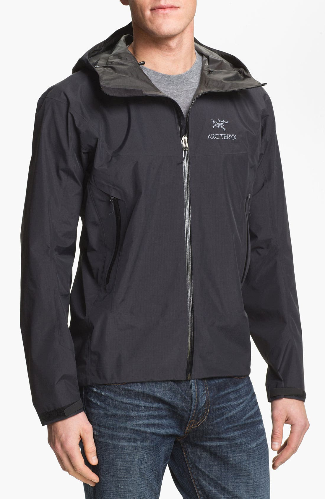 'Beta SL' Jacket,                         Main,                         color, BLACK
