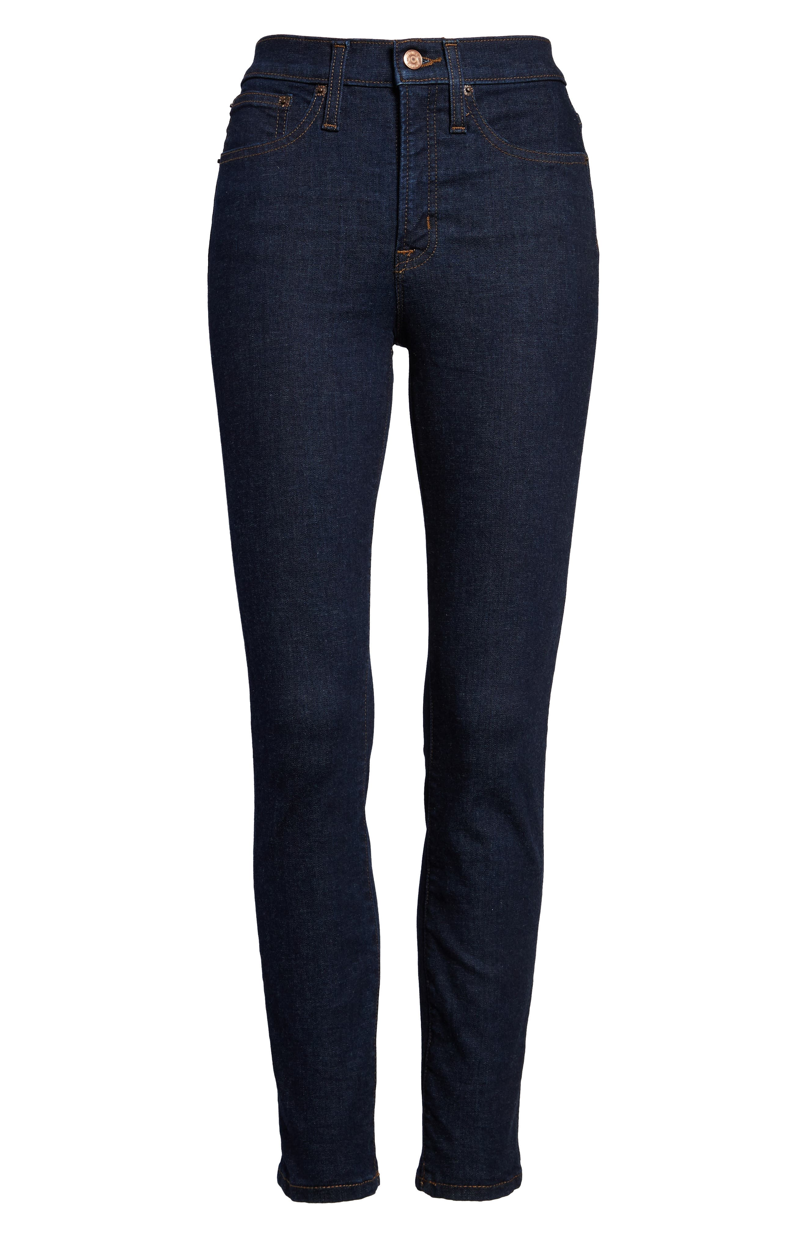 Toothpick High Rise Jeans,                             Alternate thumbnail 3, color,                             409