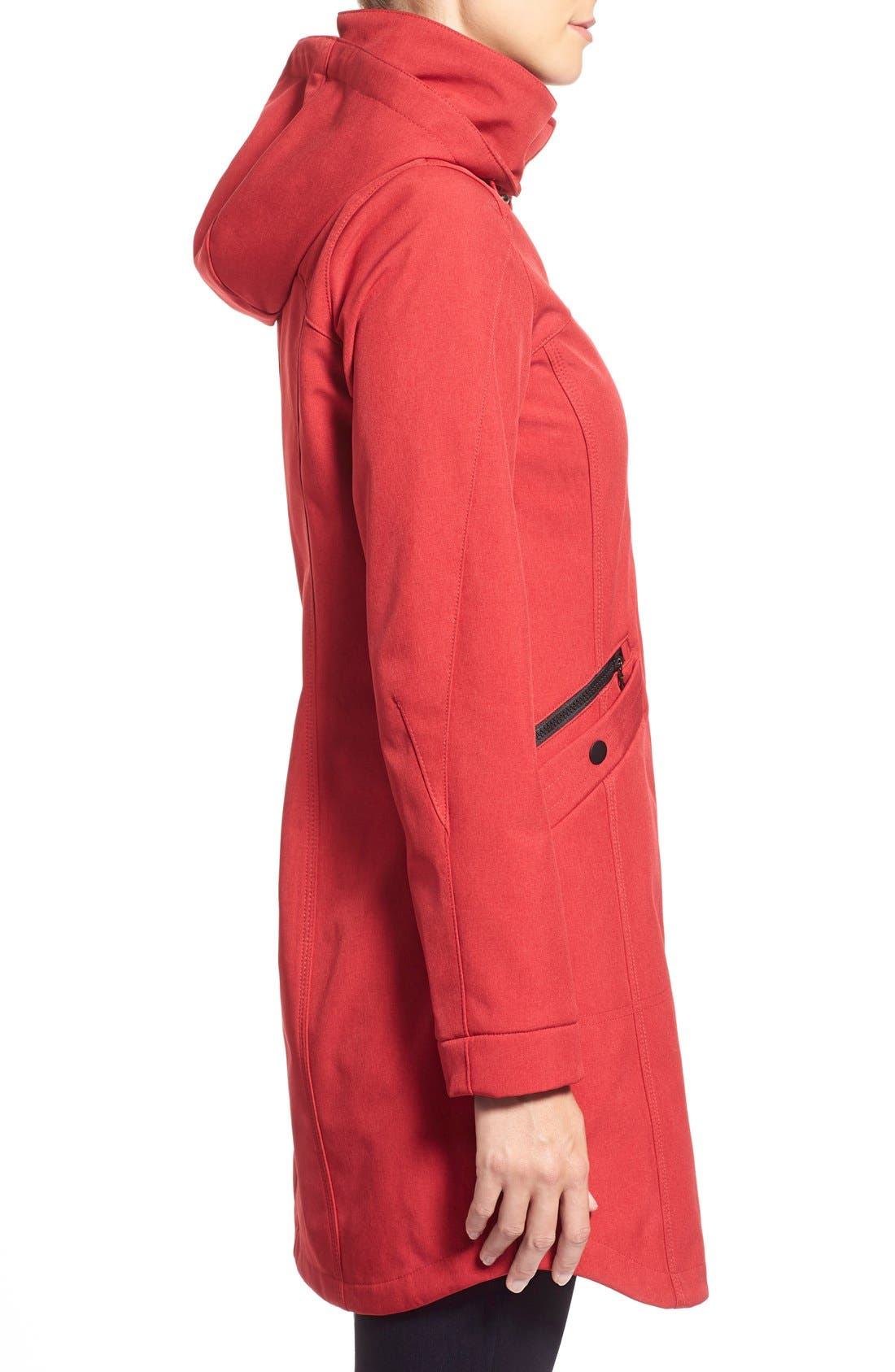 Crossdye Hooded Soft Shell Jacket,                             Alternate thumbnail 24, color,