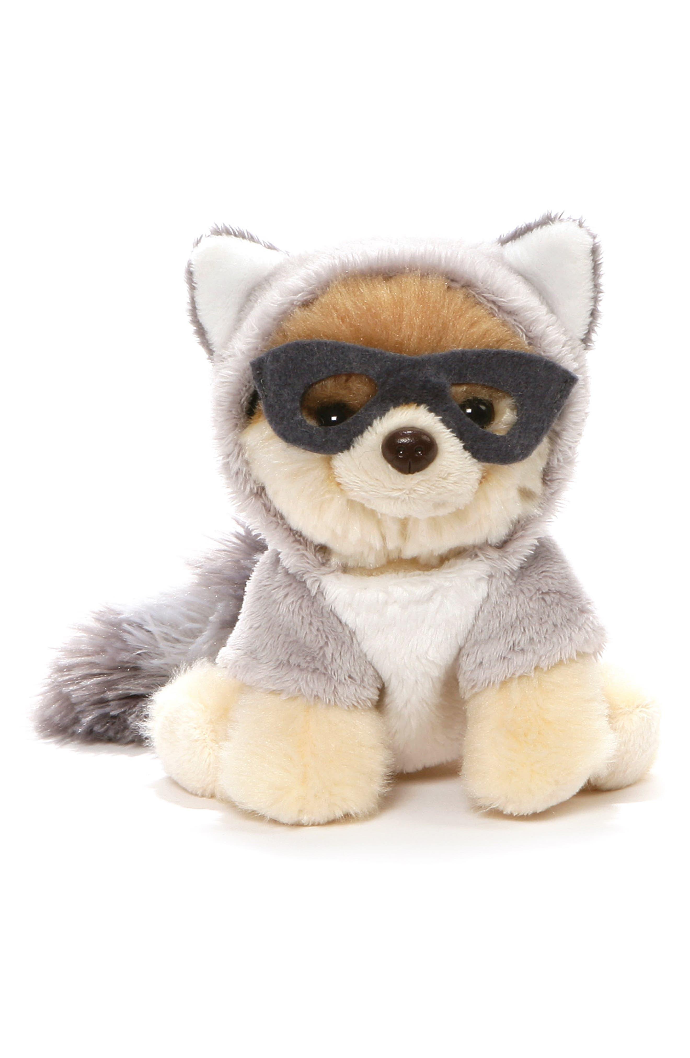 Itty Bitty Boo Raccoon Stuffed Animal,                         Main,                         color, TAN