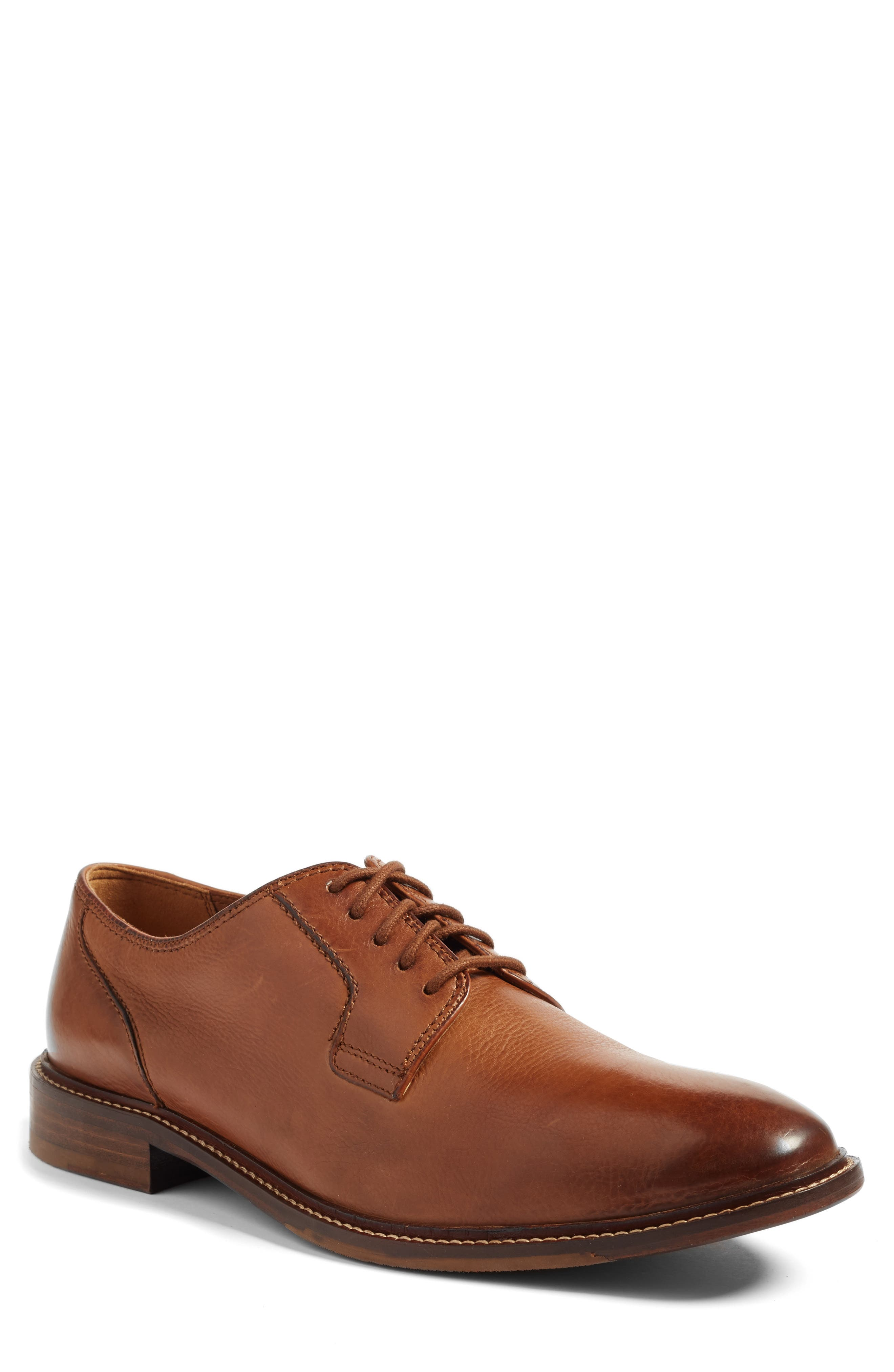 Stefano Plain Toe Derby,                         Main,                         color, 200