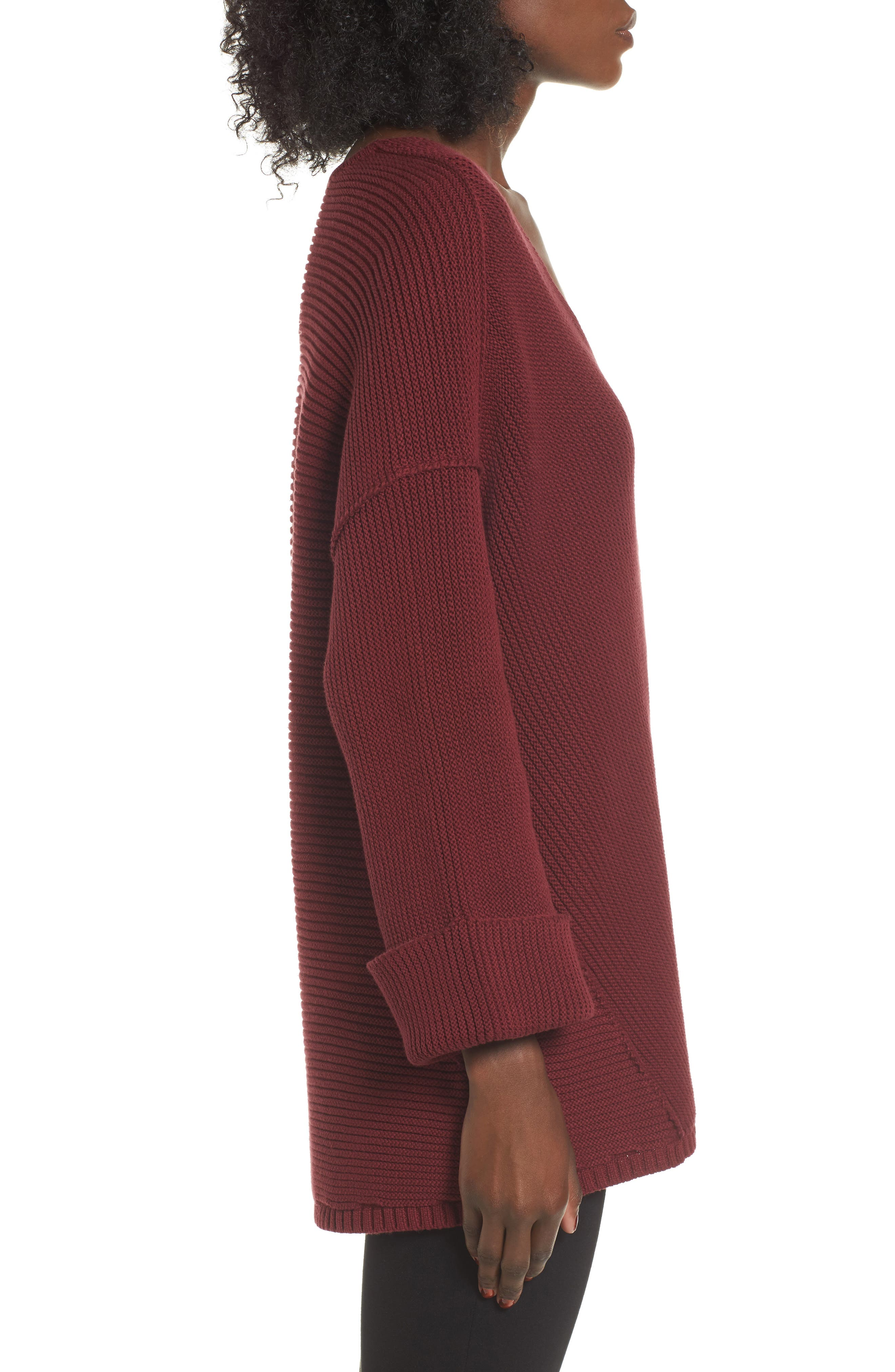 Cuff Sleeve Pullover,                             Alternate thumbnail 6, color,
