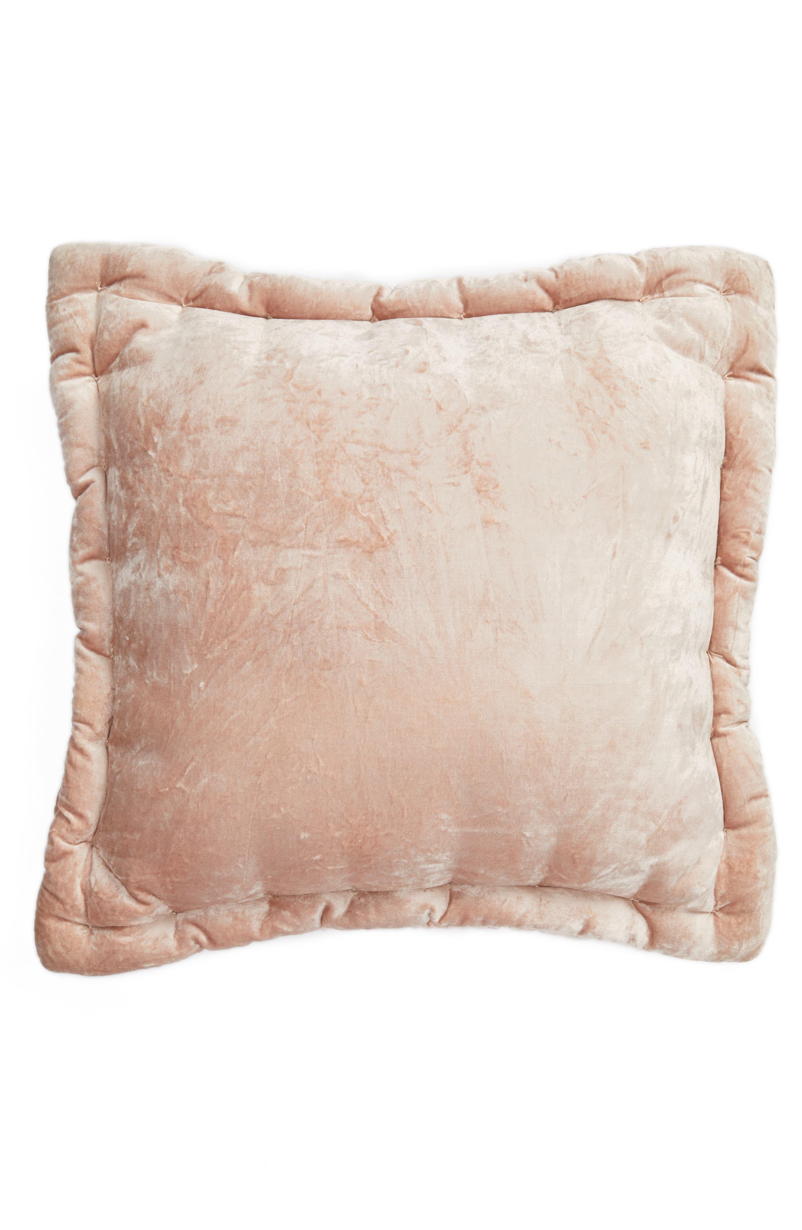 Velvet Accent Pillow,                             Alternate thumbnail 4, color,
