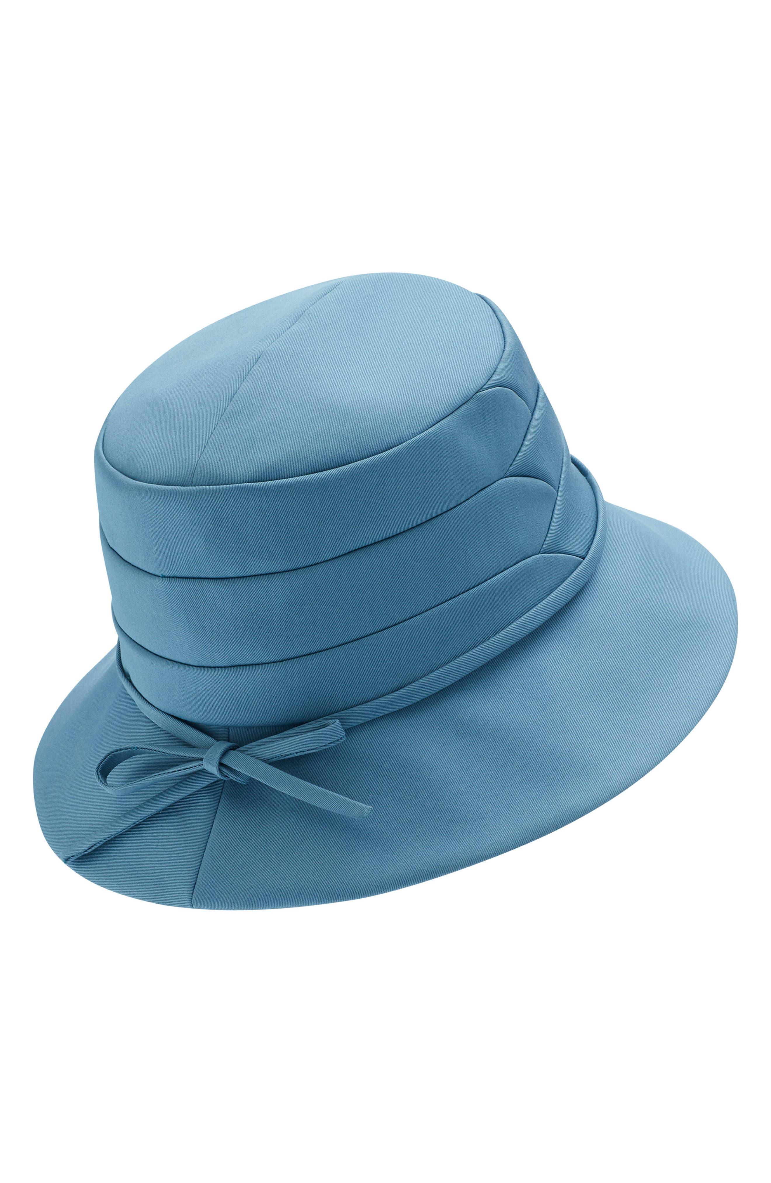 Medium Brim Water-Resistant Hat,                             Alternate thumbnail 2, color,                             LAKE