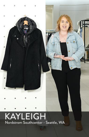 Coat with Hooded Bib, sales video thumbnail