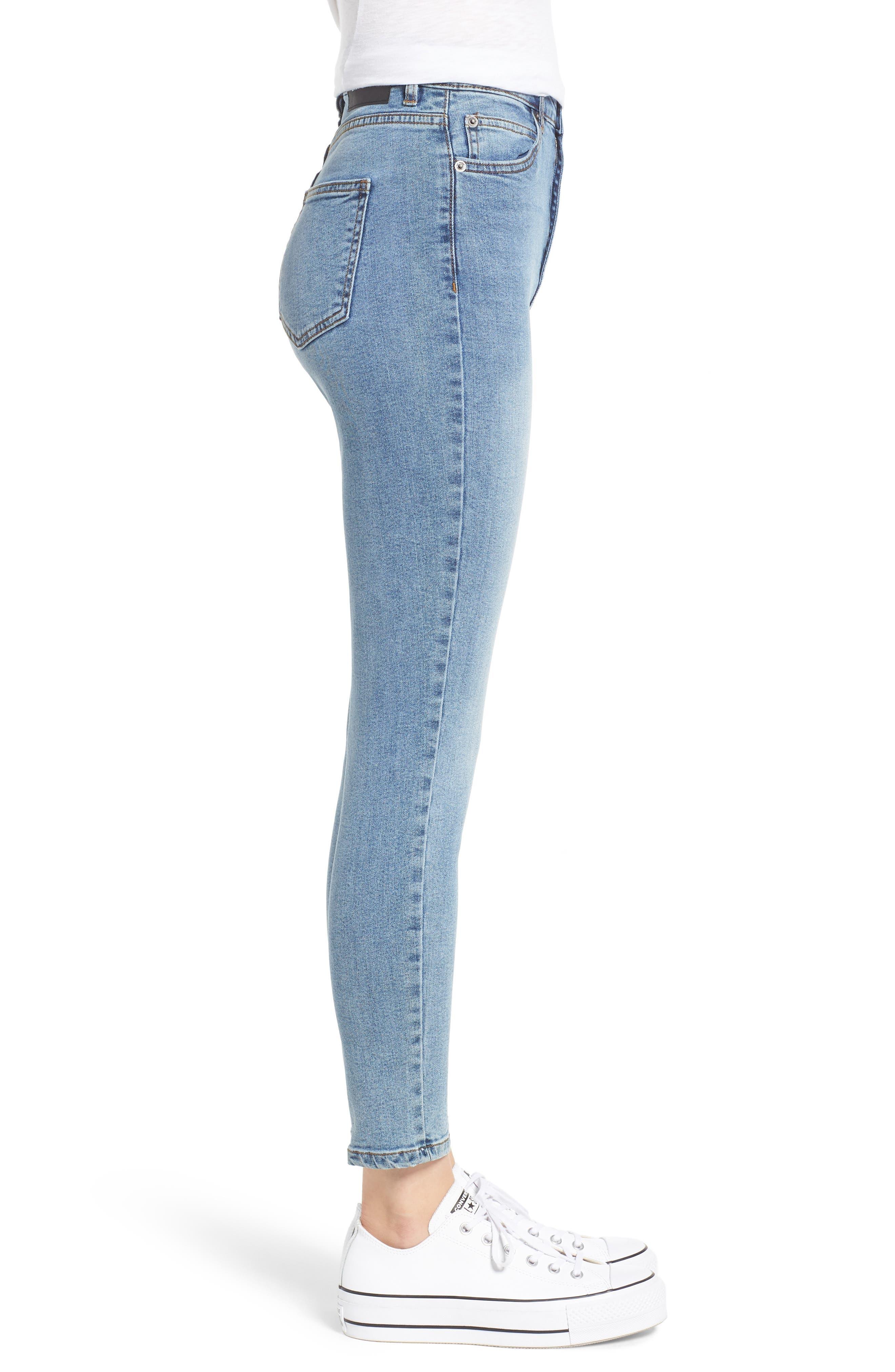 DR. DENIM SUPPLY CO.,                             Copacabana Crop Skinny Jeans,                             Alternate thumbnail 4, color,                             400