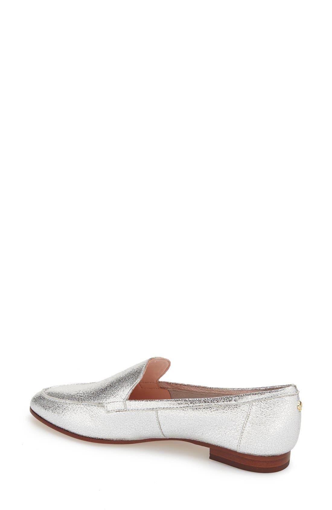 'carima' loafer flat,                             Alternate thumbnail 27, color,