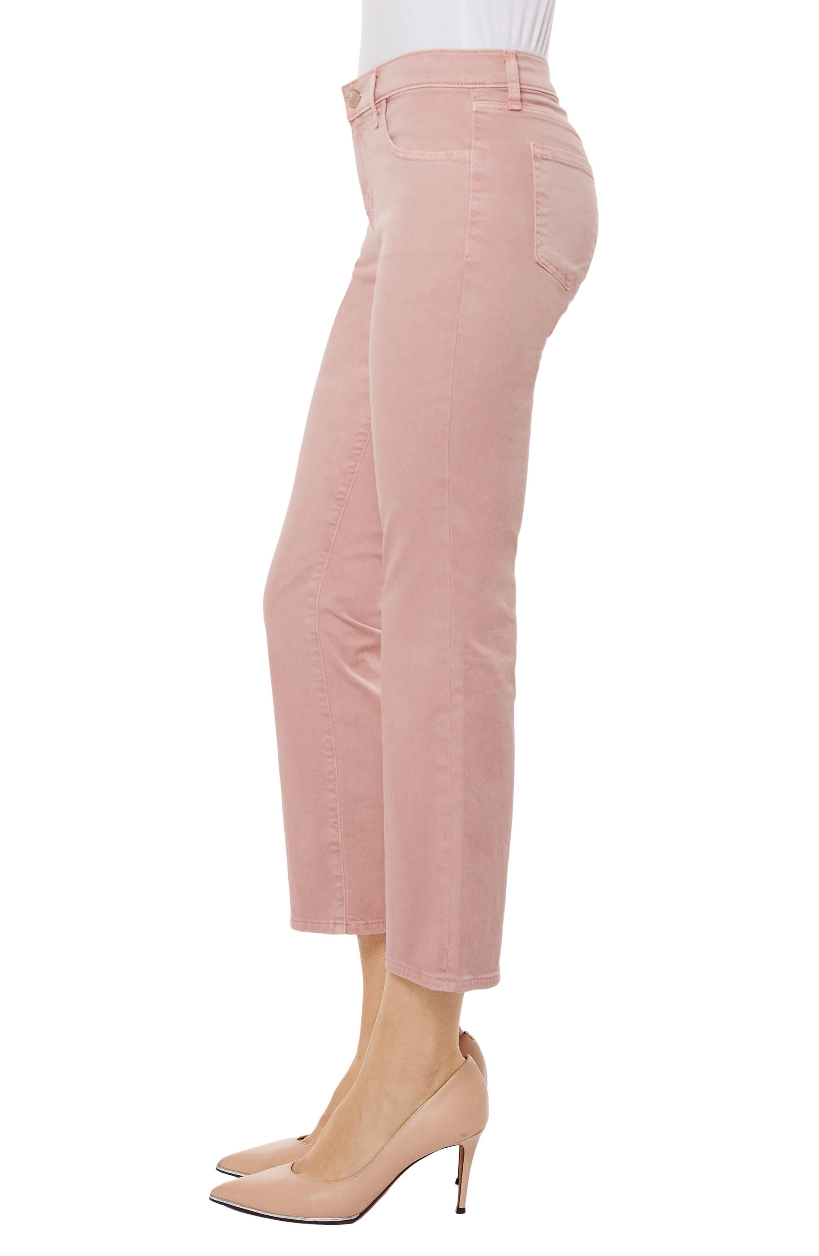 Selena Crop Bootcut Jeans,                             Alternate thumbnail 3, color,                             660