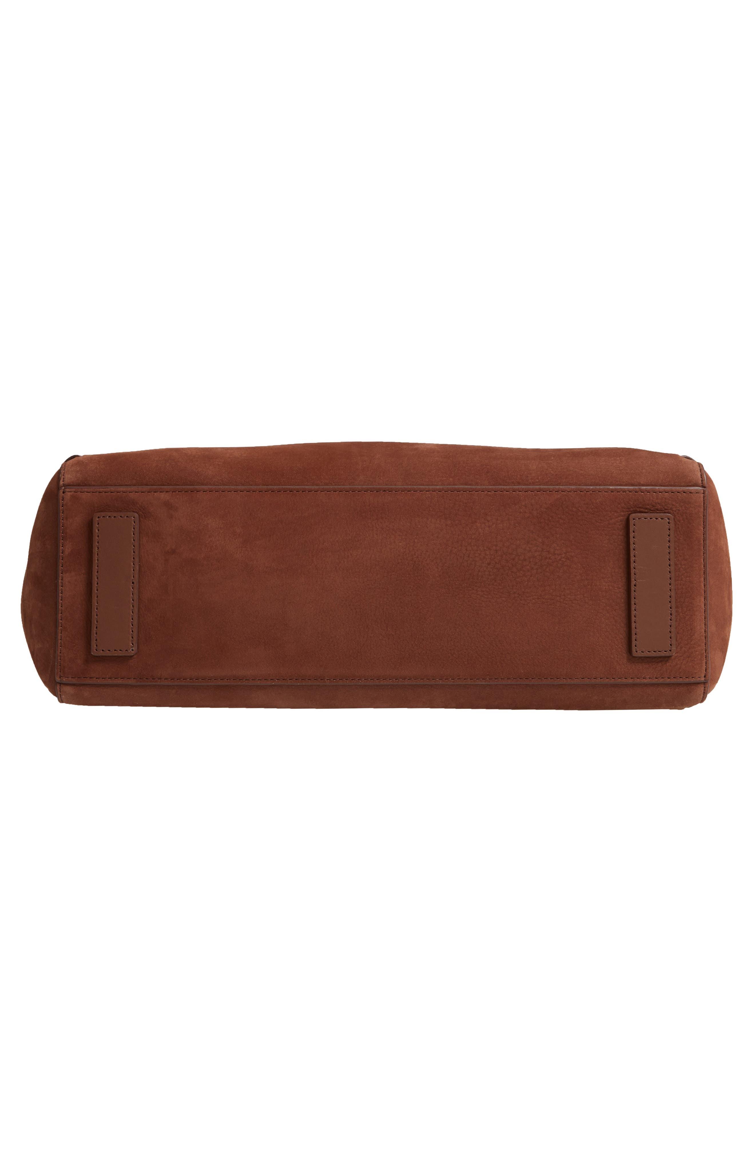 Kepi East/West Leather Shoulder Bag,                             Alternate thumbnail 6, color,                             210