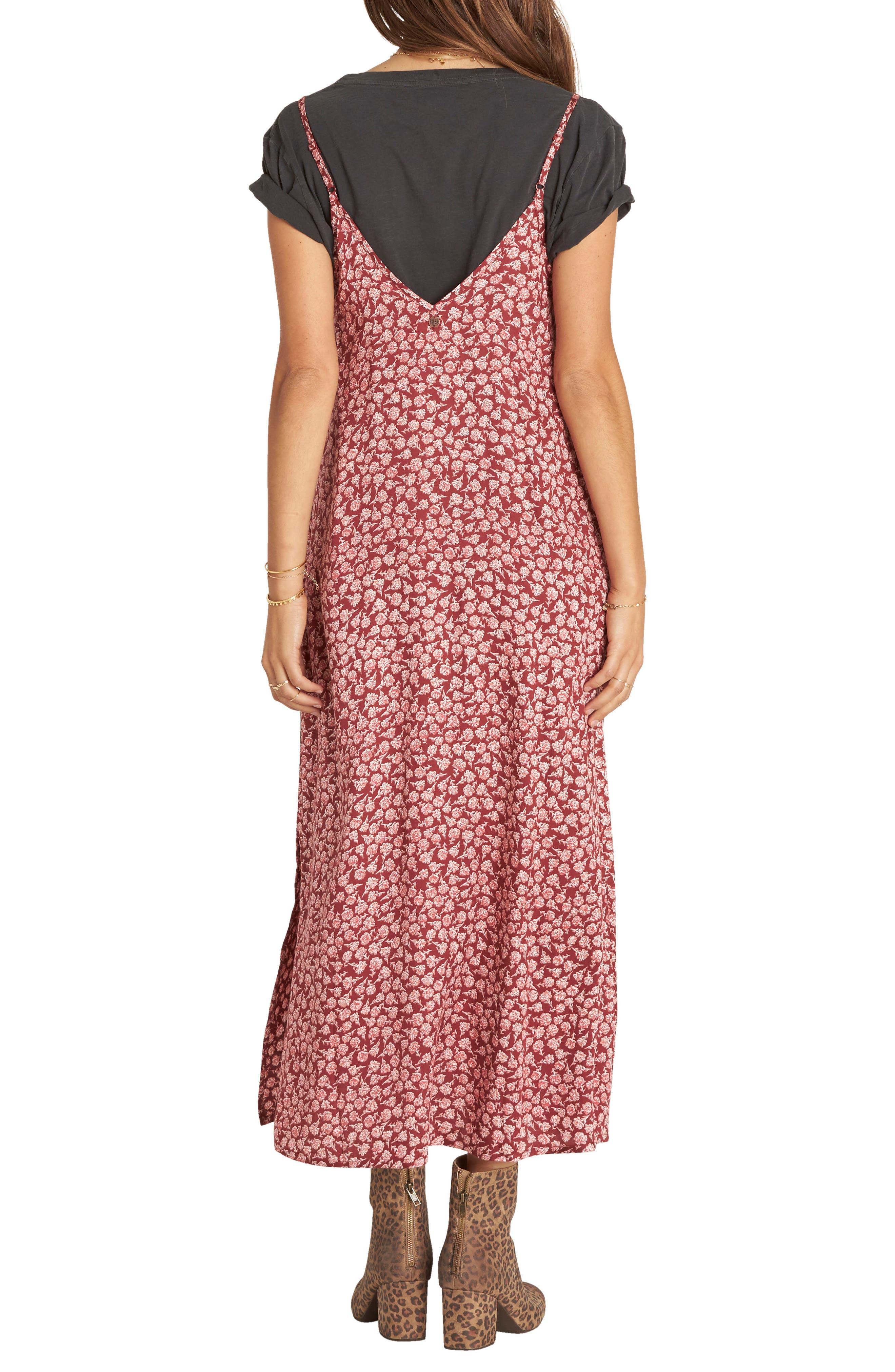 Dreamy Garden Print Dress,                             Alternate thumbnail 2, color,                             002