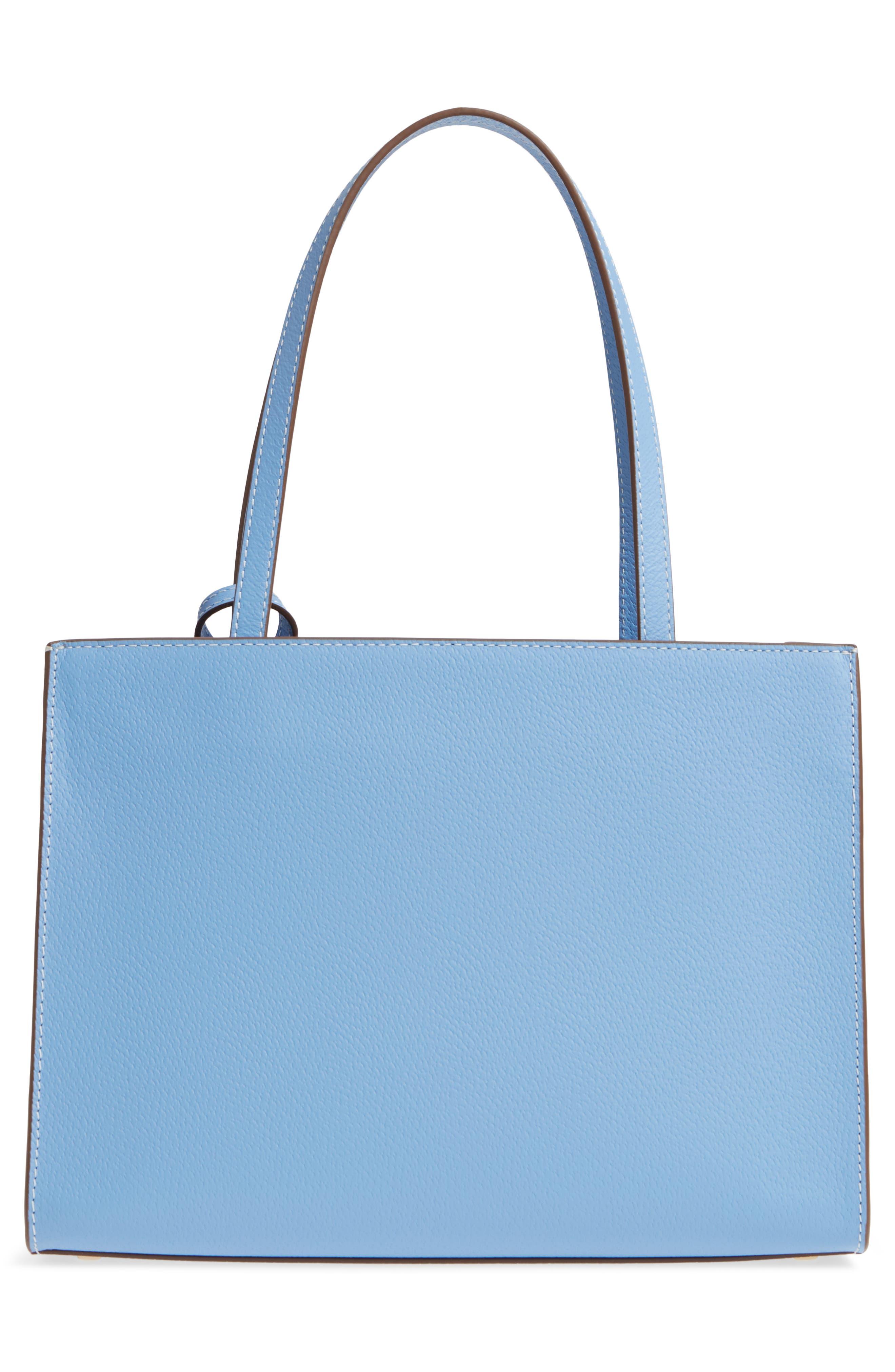 thompson street - large sam leather handbag,                             Alternate thumbnail 6, color,