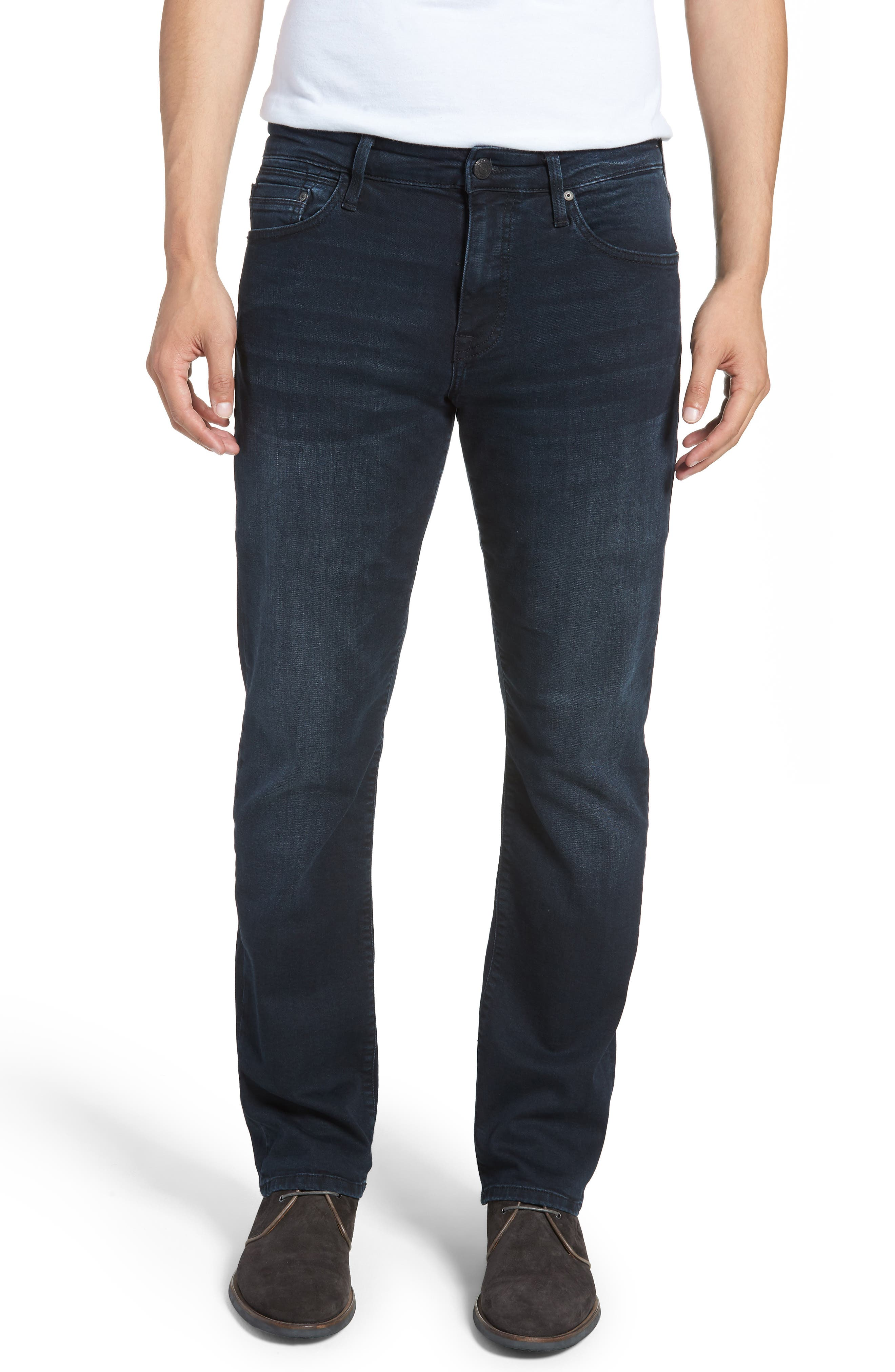 Matt Relaxed Fit Jeans,                             Main thumbnail 1, color,                             INK BRUSHED WILLIAMSBURG