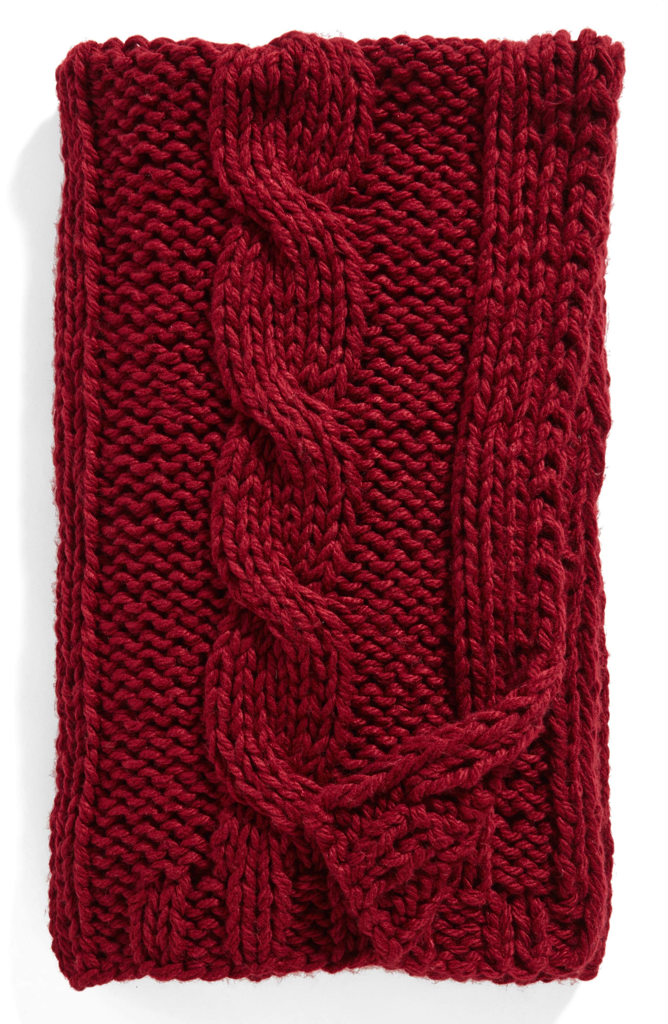 Grand Cable Throw,                             Main thumbnail 5, color,