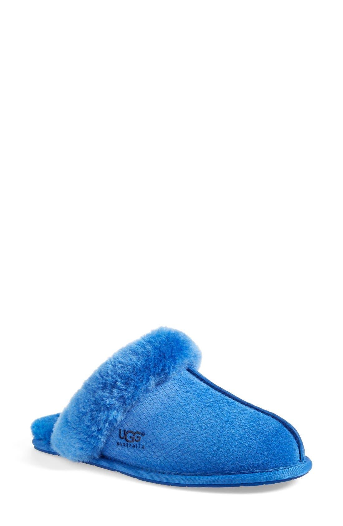 Australia Scuffette II - Exotic Genuine Calf Hair Slipper,                             Main thumbnail 3, color,