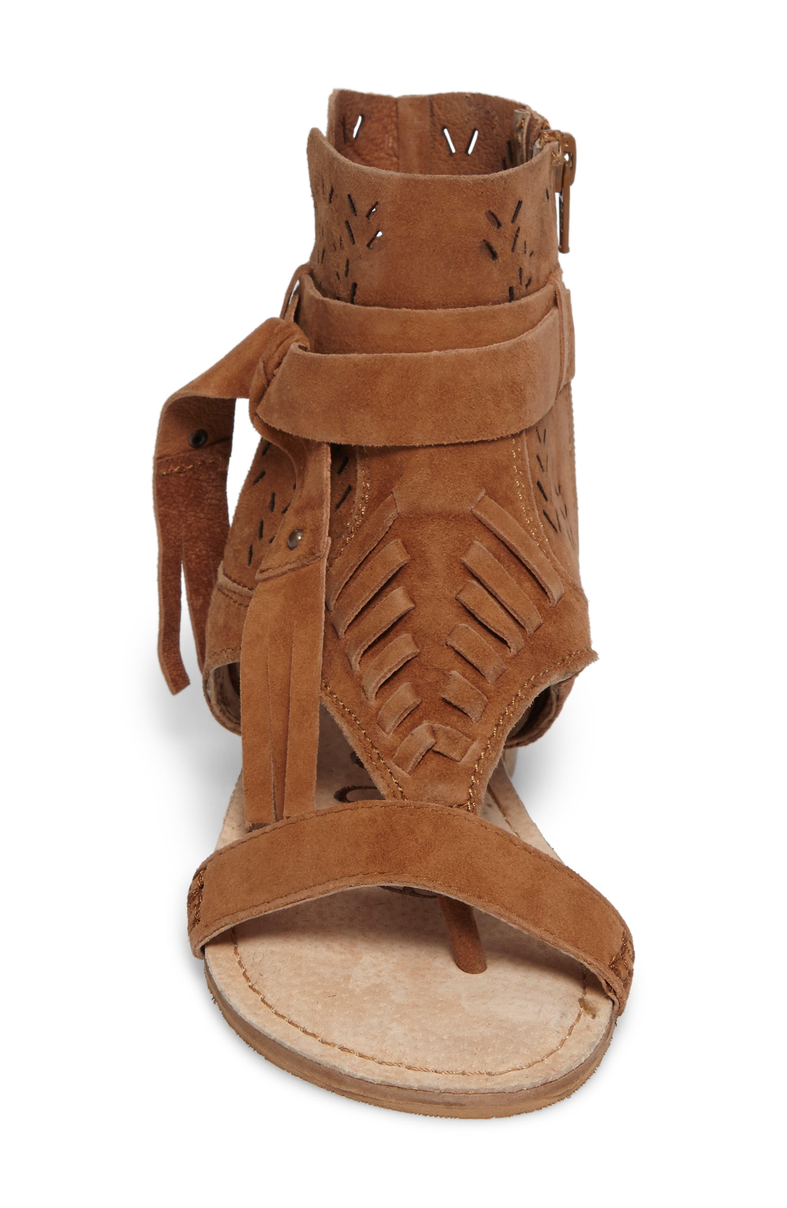 Cochise Flat Sandal,                             Alternate thumbnail 18, color,