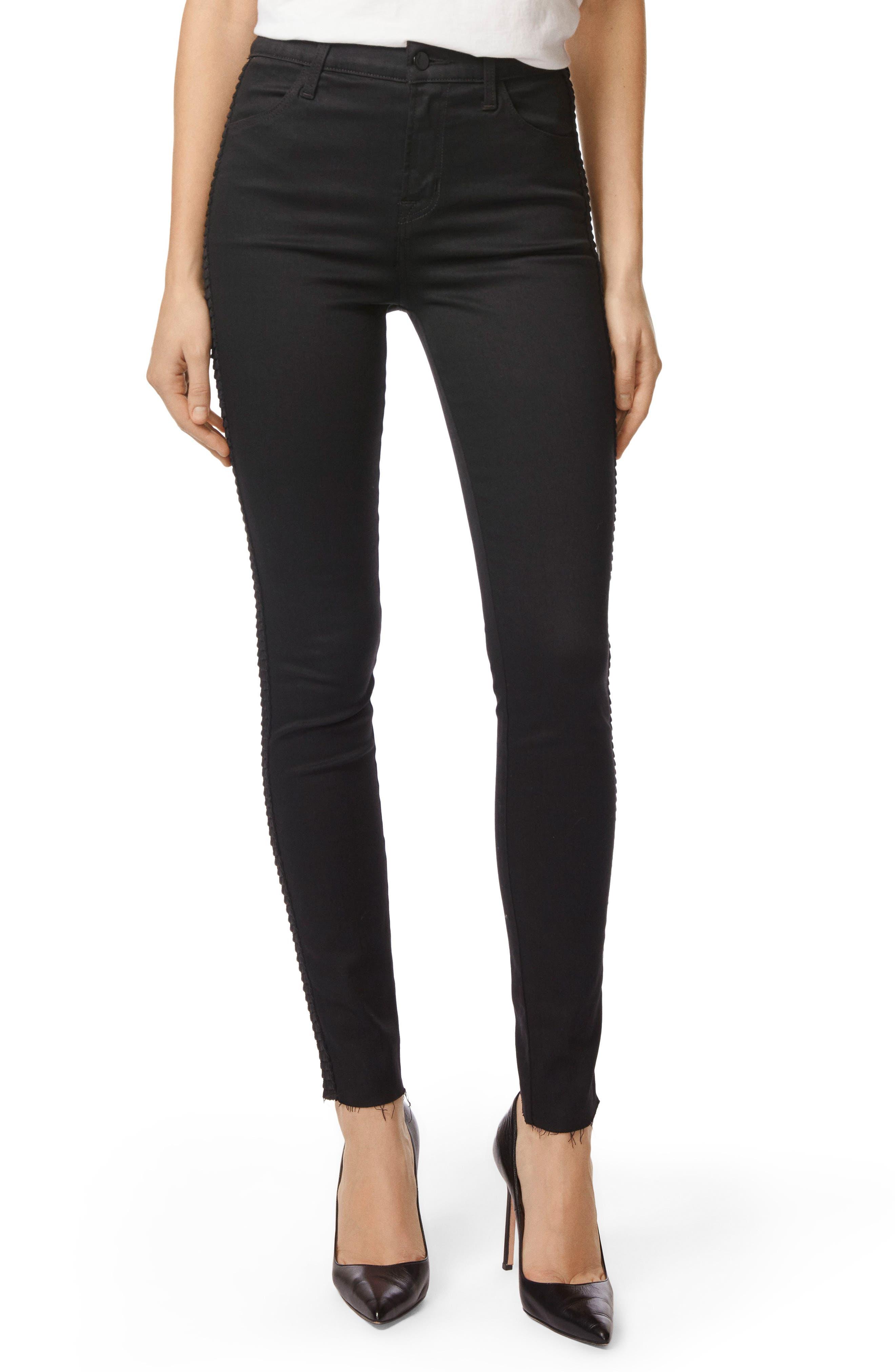 Maria High Waist Skinny Jeans,                         Main,                         color, 009