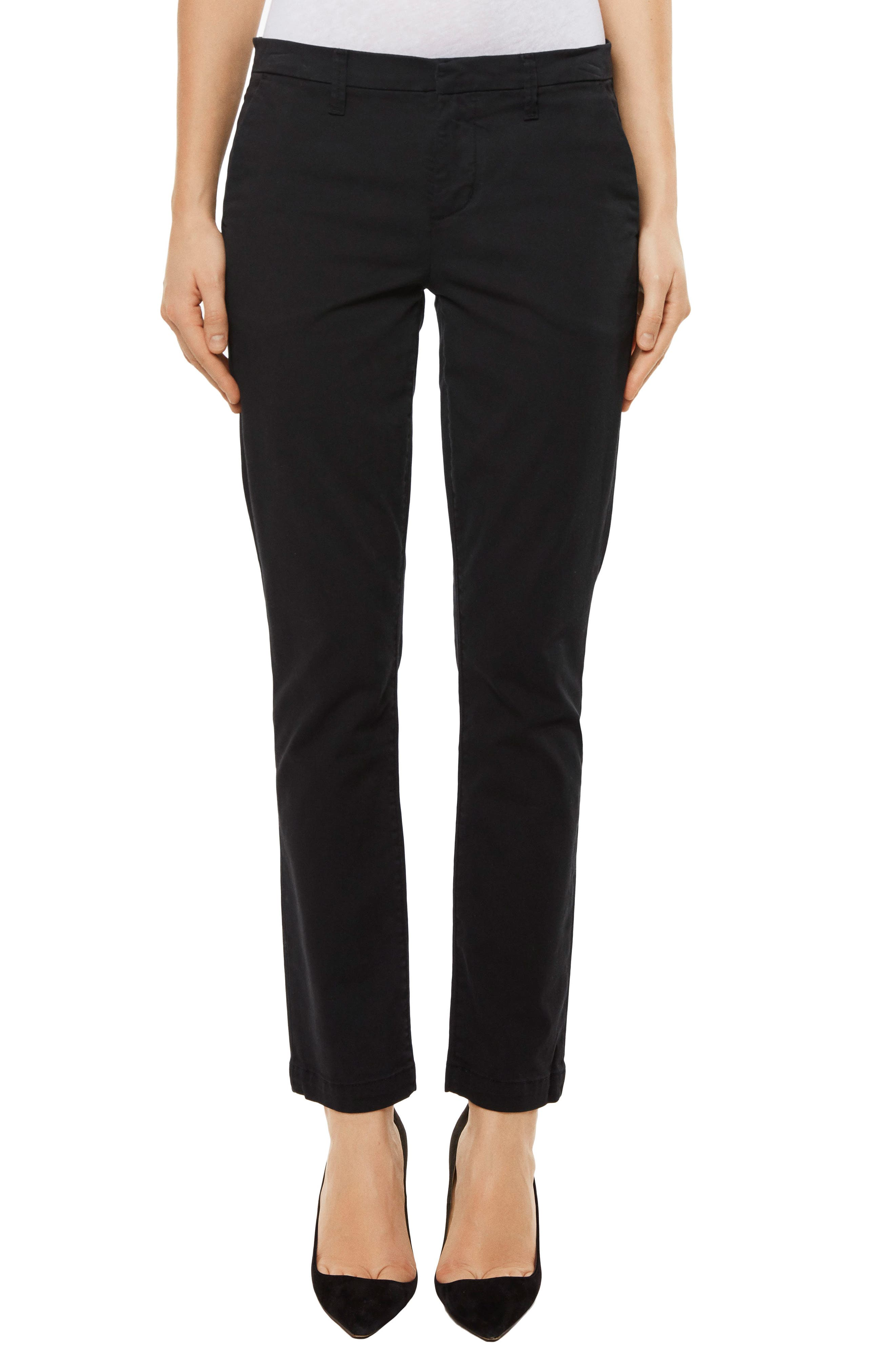 Clara Ankle Trousers,                             Main thumbnail 1, color,                             001