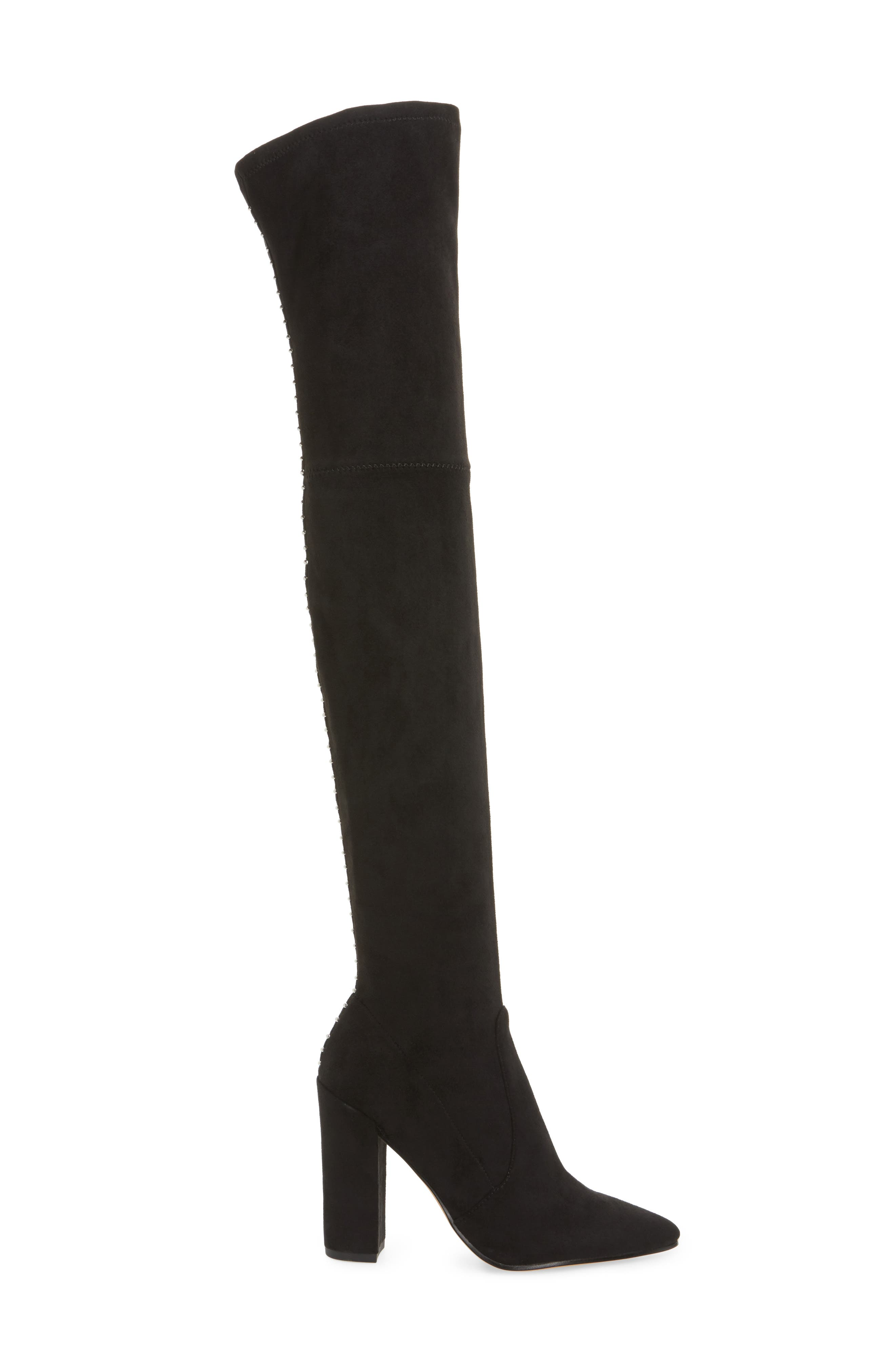 Emmy Over the Knee Boot,                             Alternate thumbnail 3, color,                             001