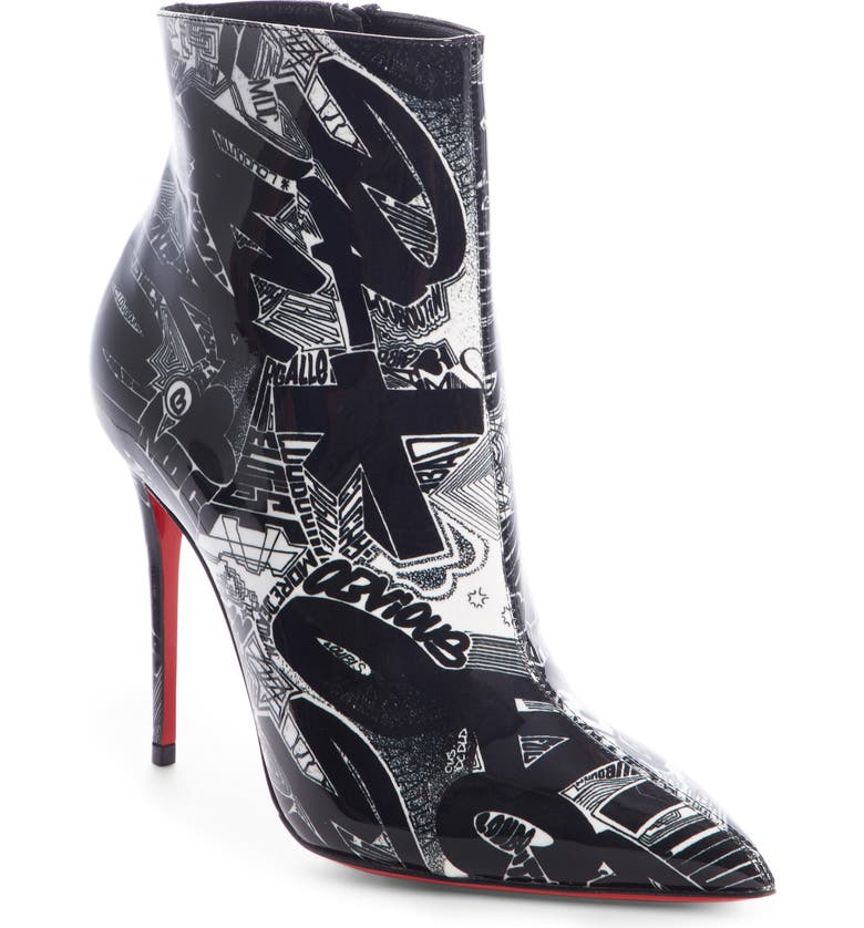 f8055f566c86 Christian Louboutin So Kate Patent Leather Ankle Boots - Black Size ...