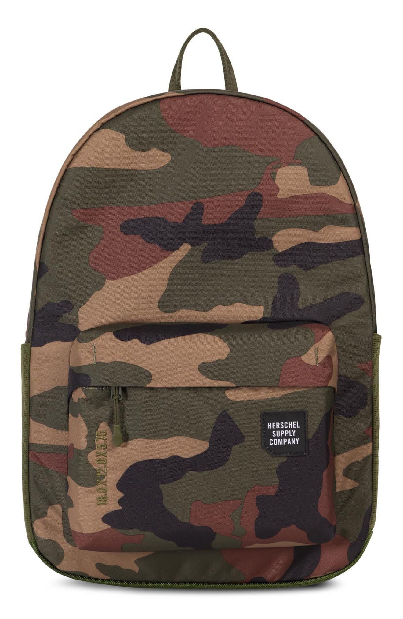 Rundle Trail Backpack,                         Main,                         color, CAMO