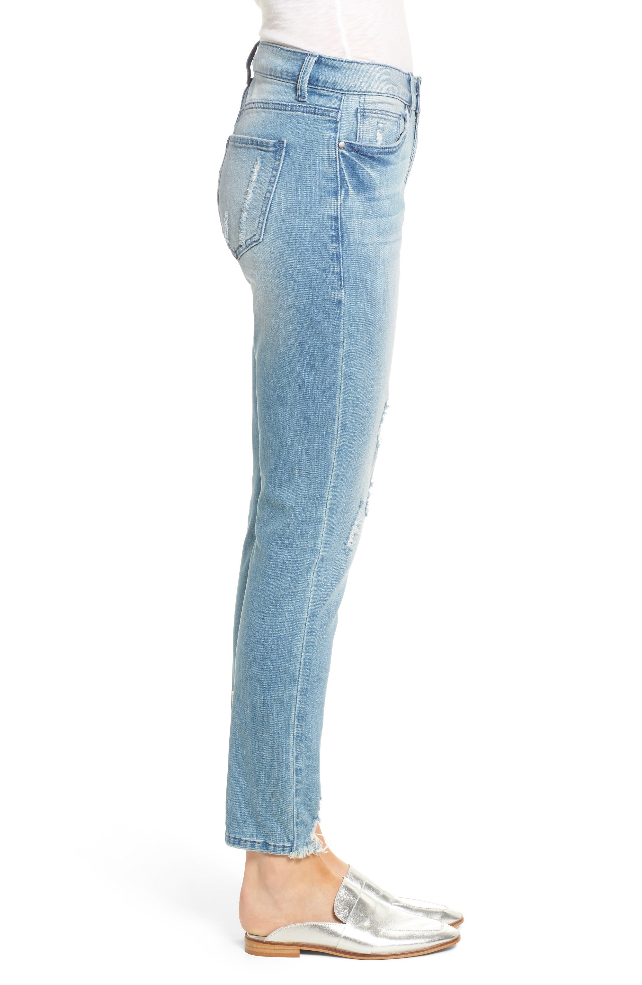 Verona Skinny Jeans,                             Alternate thumbnail 3, color,                             403