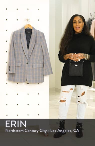 Jeanne Check Blazer, sales video thumbnail