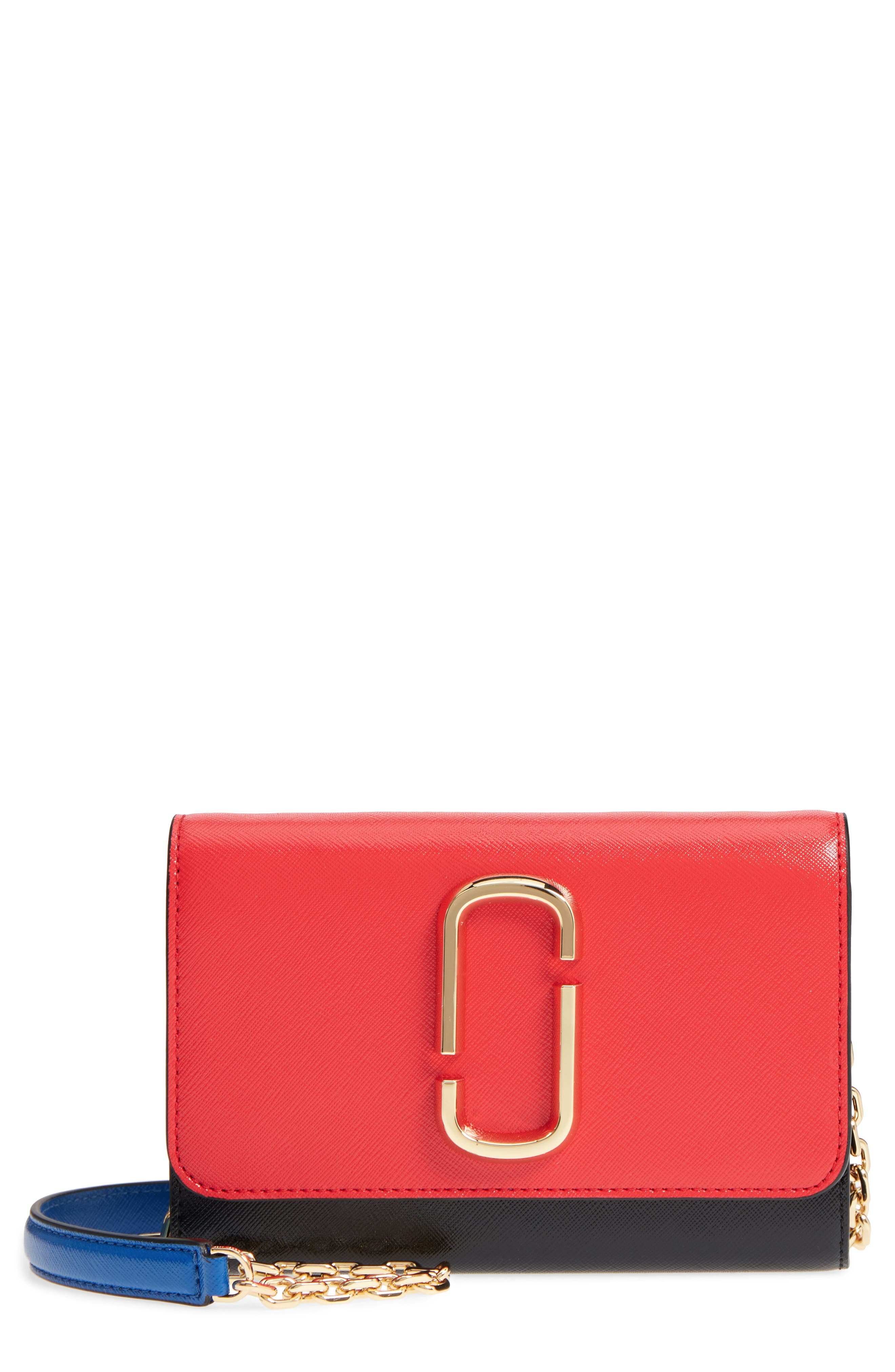 Snapshot Leather Wallet on a Chain,                             Main thumbnail 8, color,