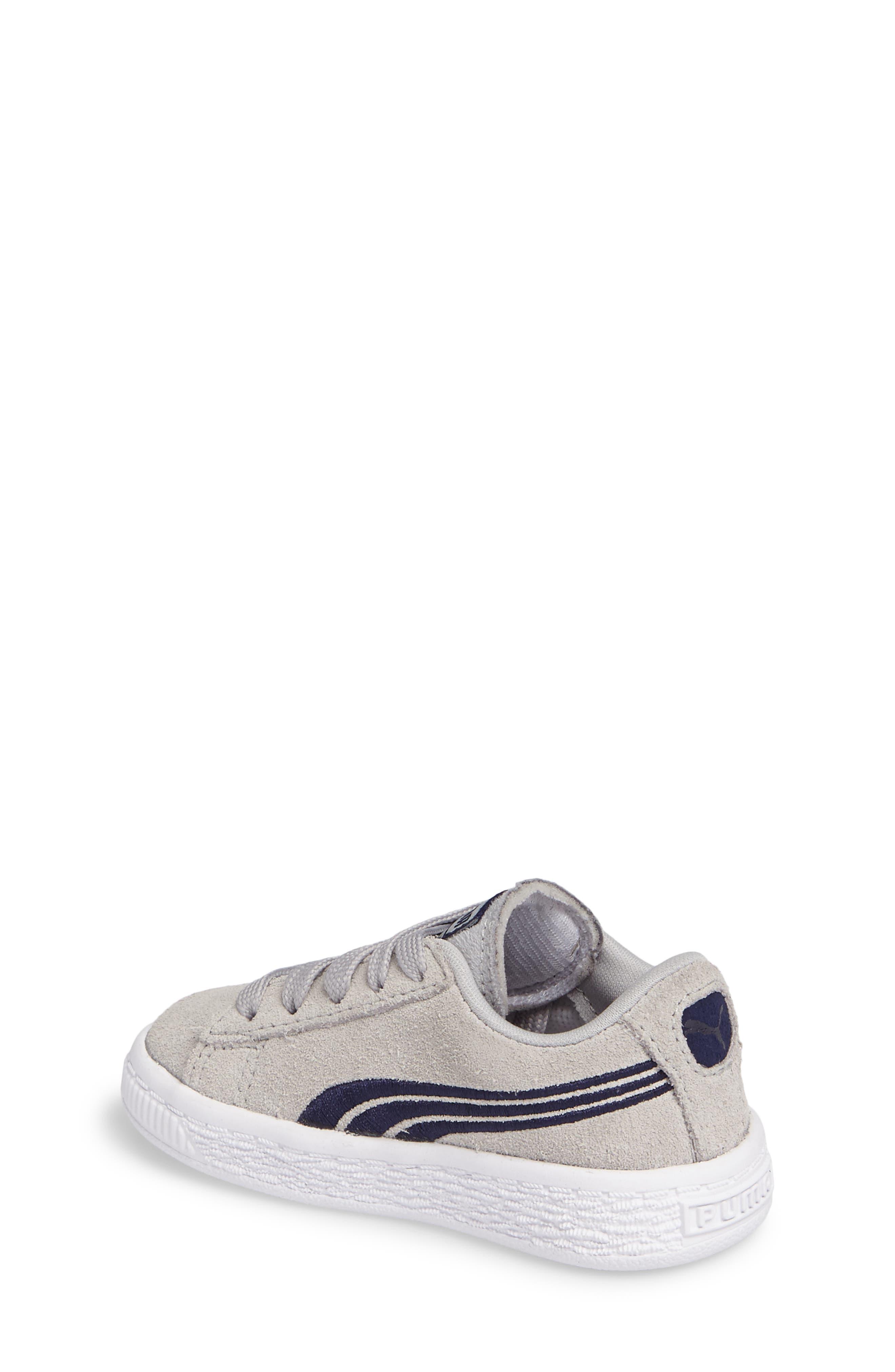 Suede Classic Badge Sneaker,                             Alternate thumbnail 2, color,                             060