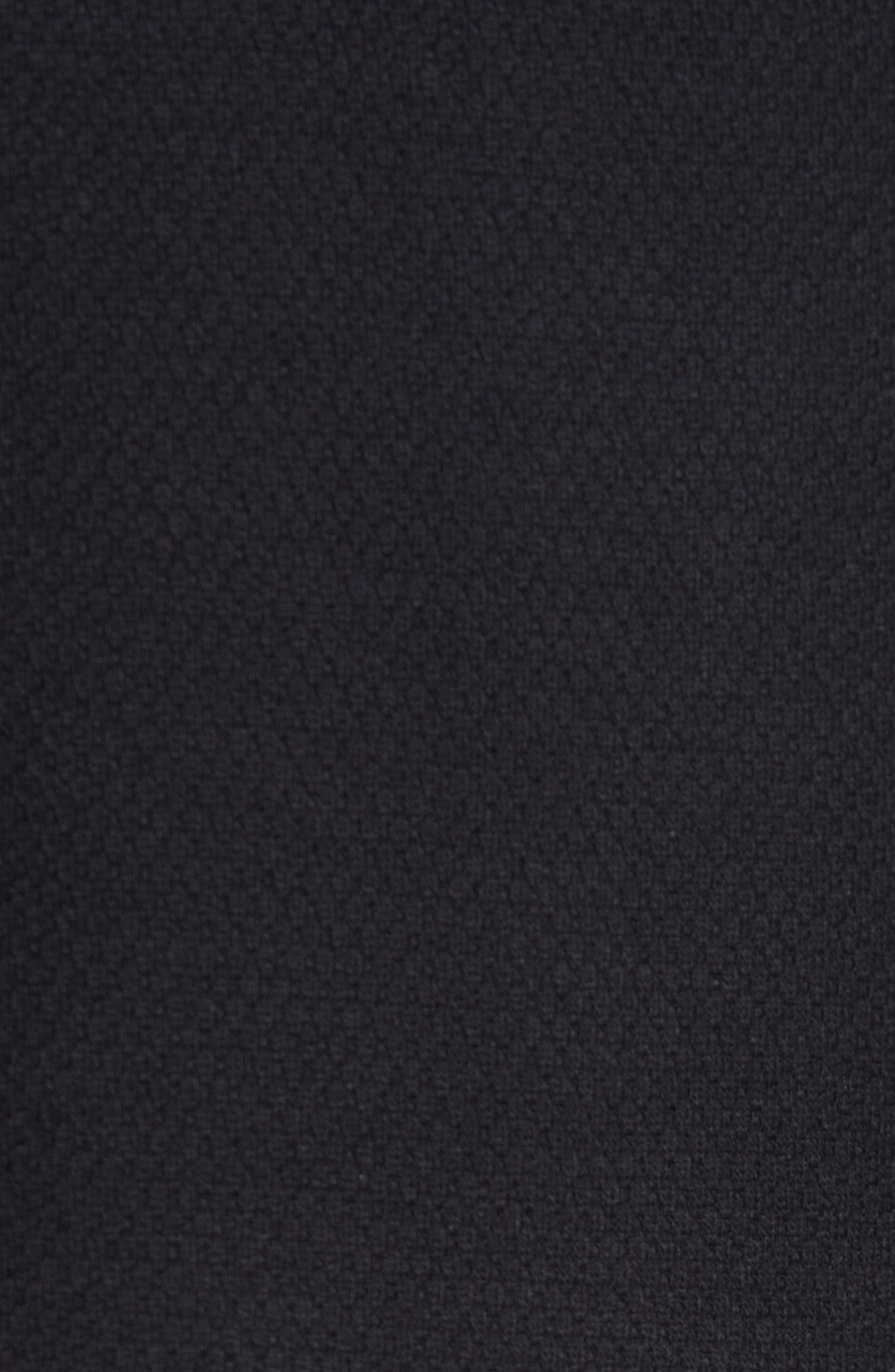 Stripe Trim Sweatshirt,                             Alternate thumbnail 5, color,                             001