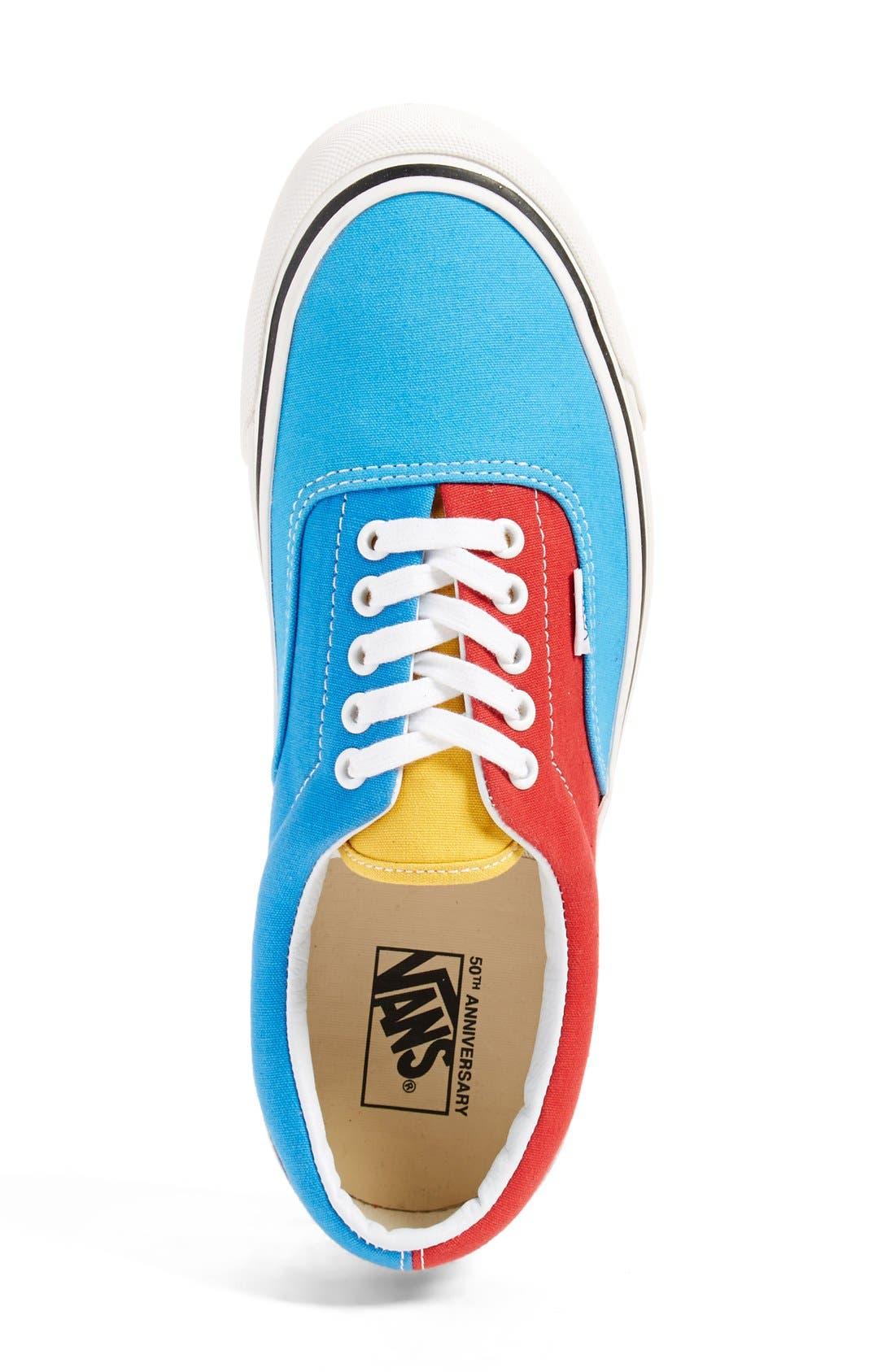 '50th Era 95 Reissue' Low Top Skate Sneaker,                             Alternate thumbnail 3, color,                             001