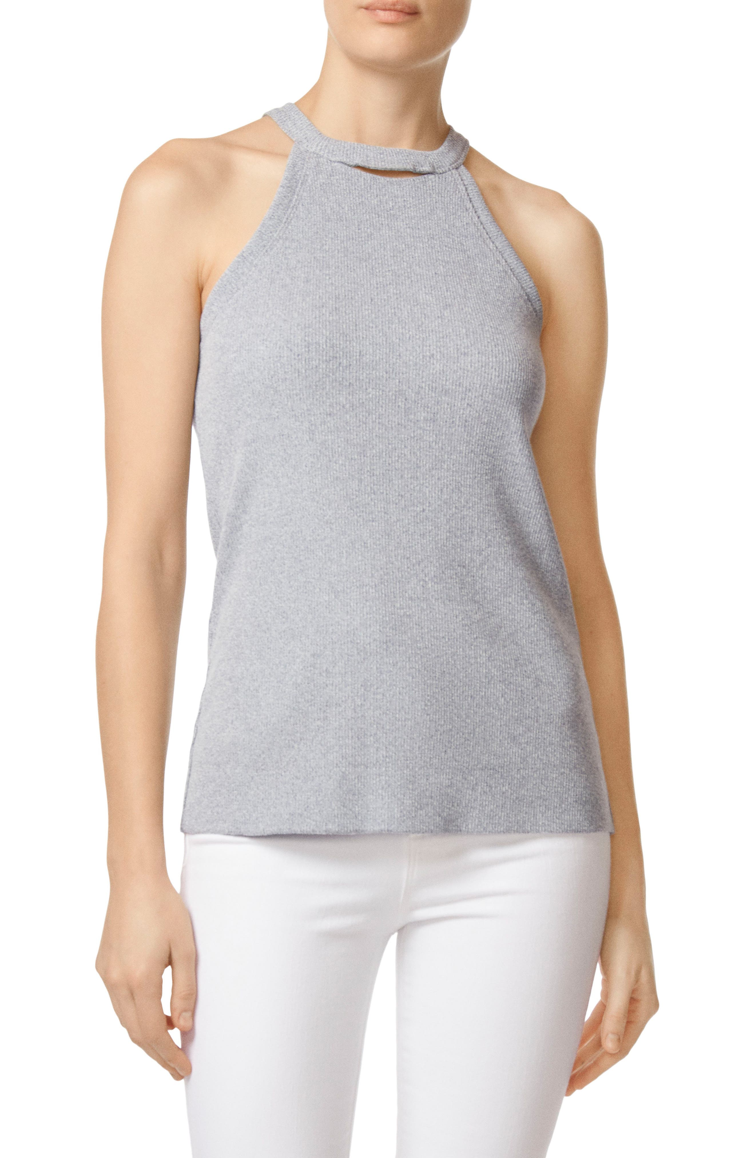 J BRAND Coastal Halter Top, Main, color, 402