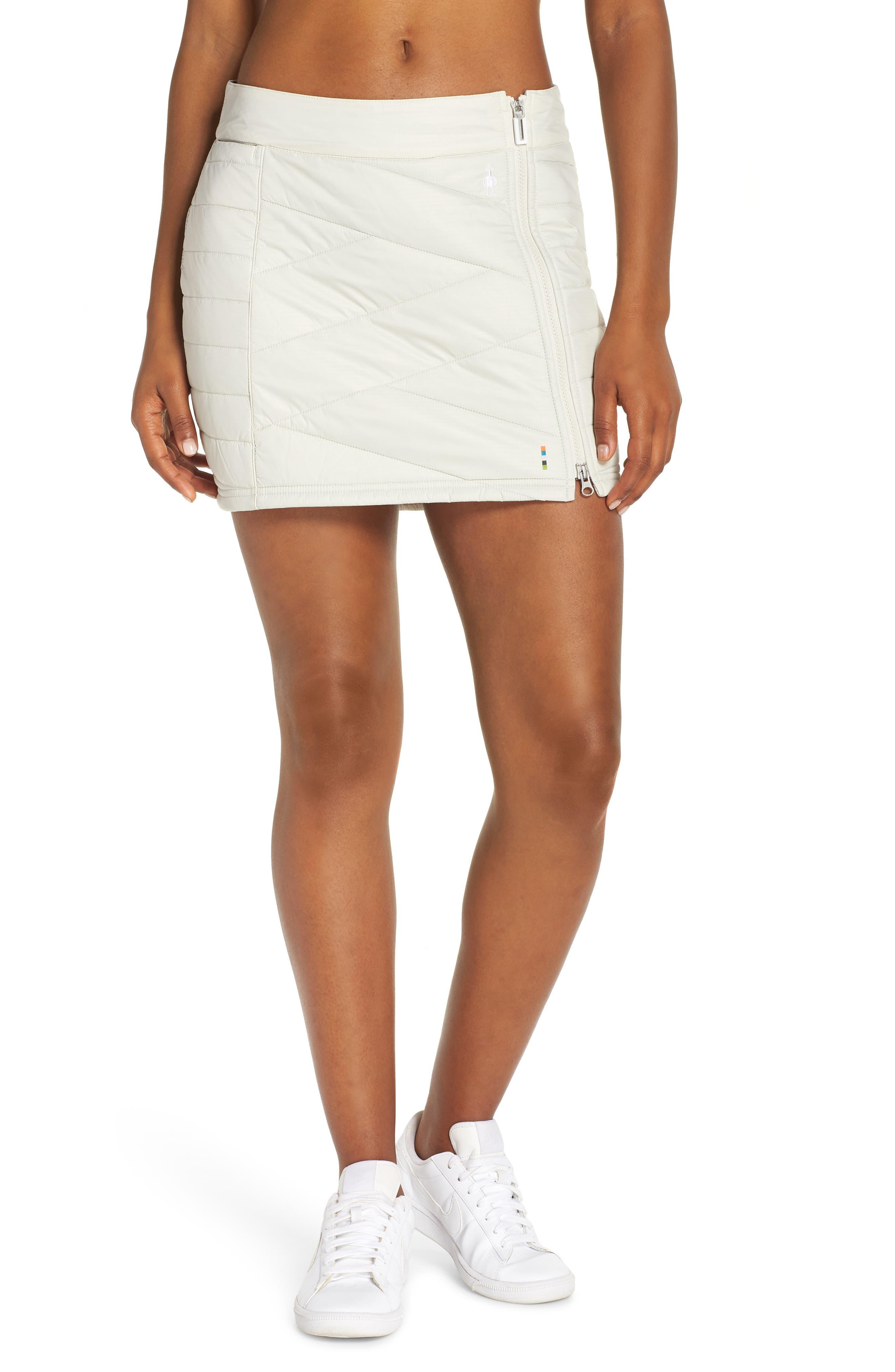 SMARTWOOL Smartloft 120 Quilted Skirt, Main, color, 025