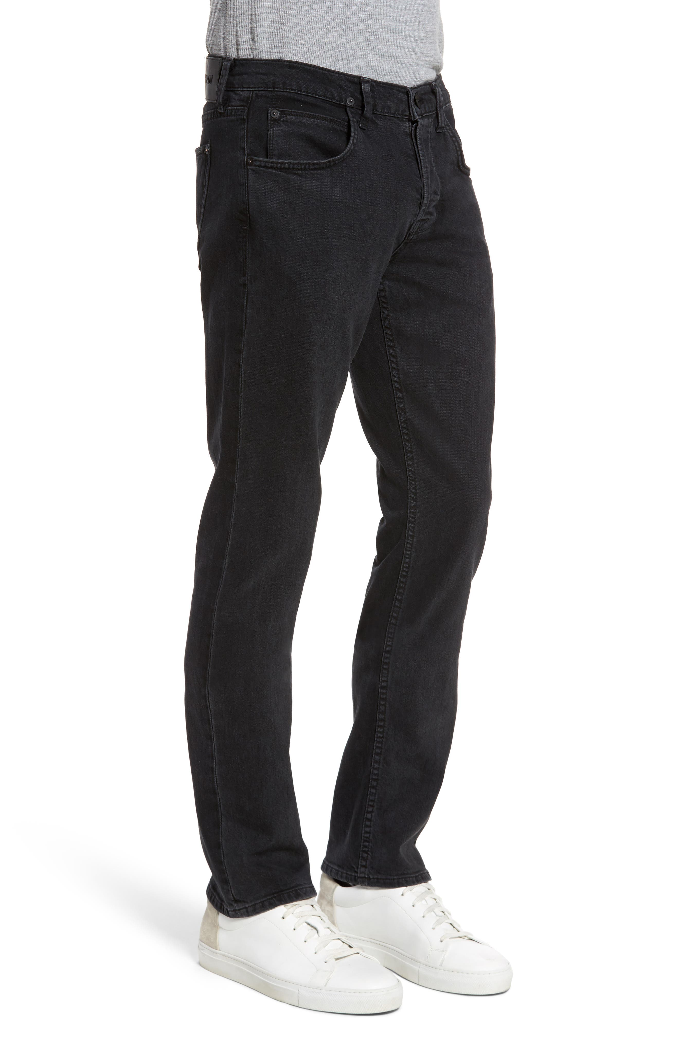 Byron Slim Straight Fit Jeans,                             Alternate thumbnail 3, color,